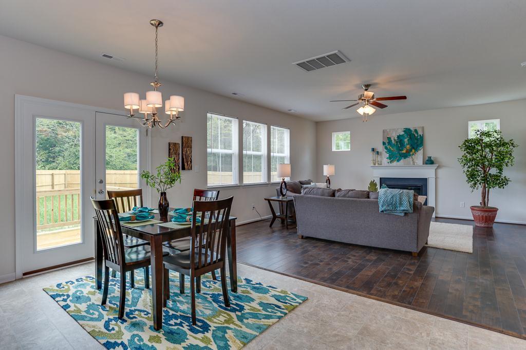 Living Area featured in the Cedar II By Wetherington Homes in Norfolk-Newport News, VA