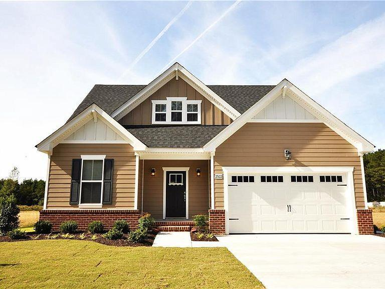 Exterior featured in The Cedar II By Wetherington Homes in Norfolk-Newport News, VA