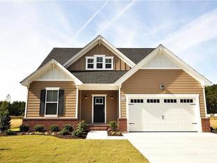 The Cedar II - The Farmettes in Rural Grassfield: Chesapeake, Virginia - Wetherington Homes