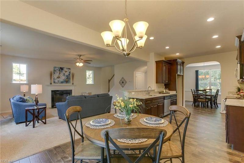 Living Area featured in the Dogwood IV By Wetherington Homes in Norfolk-Newport News, VA