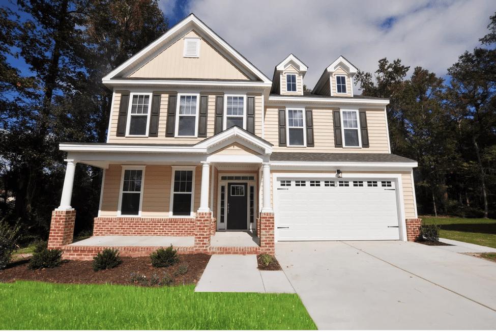 Exterior featured in the Laurel  By Wetherington Homes in Norfolk-Newport News, VA