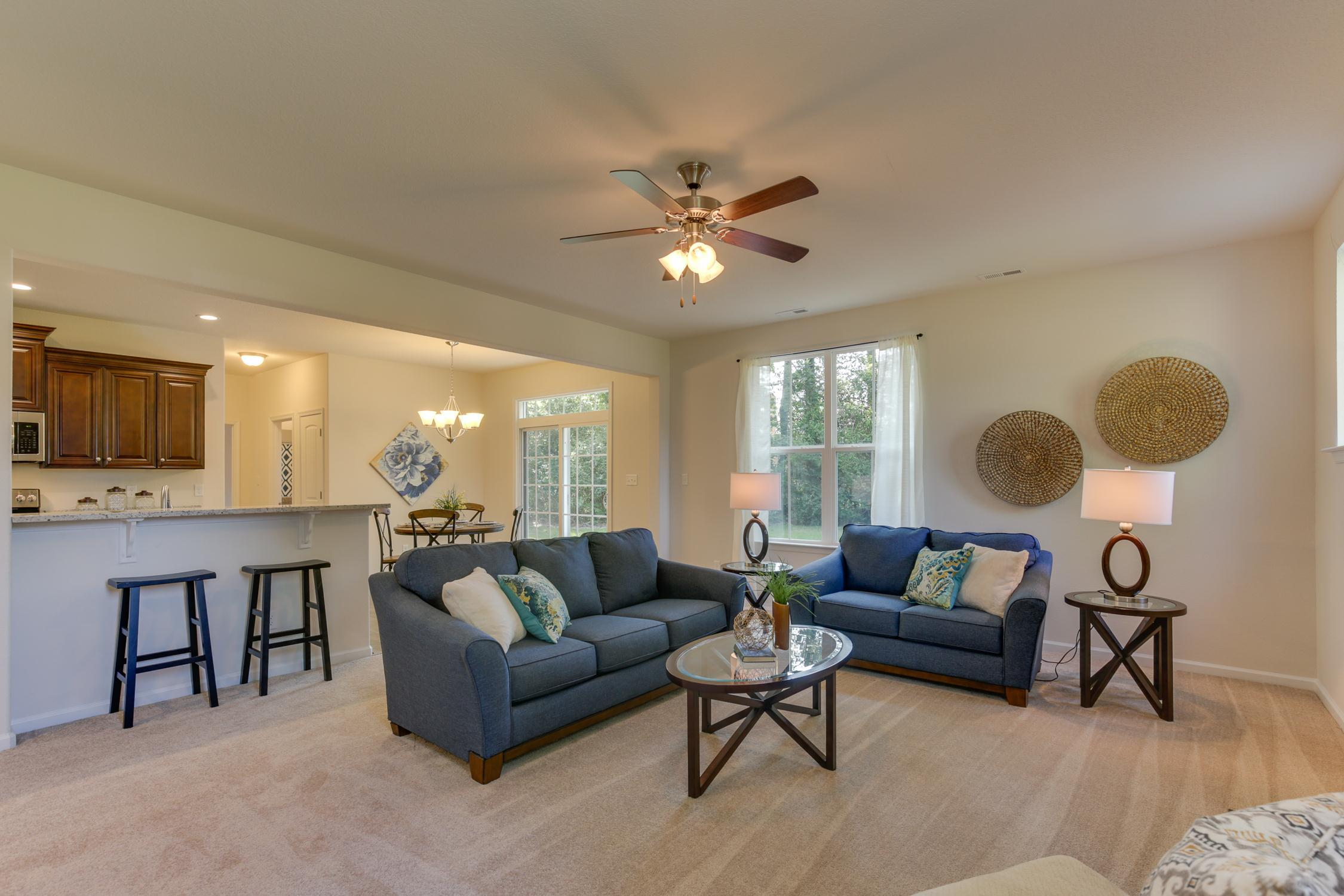 Living Area featured in the Dogwood  By Wetherington Homes in Norfolk-Newport News, VA