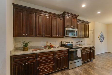 Kitchen-in-Dogwood IV-at-The Farmettes in Rural Grassfield-in-Chesapeake
