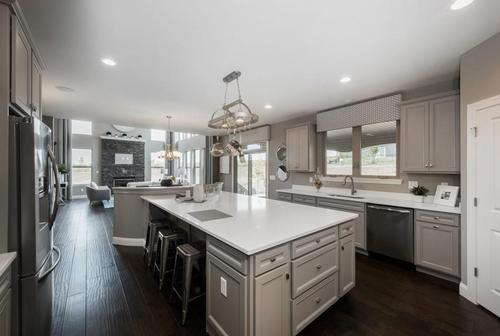 Kitchen-in-Lombardo Homes Harbor Plan-at-The Villages at Sandfort Farm-in-Saint Charles