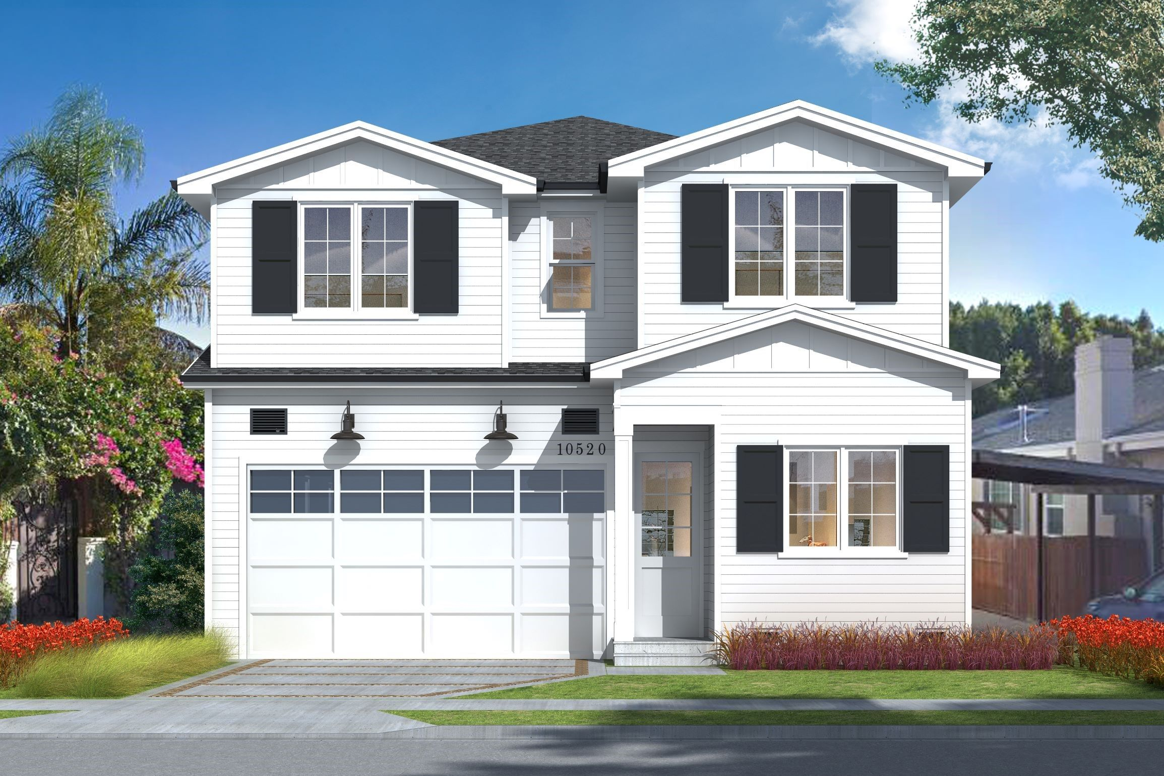 Exterior featured in The Monrovia Collection By Thomas James Homes in Los Angeles, CA