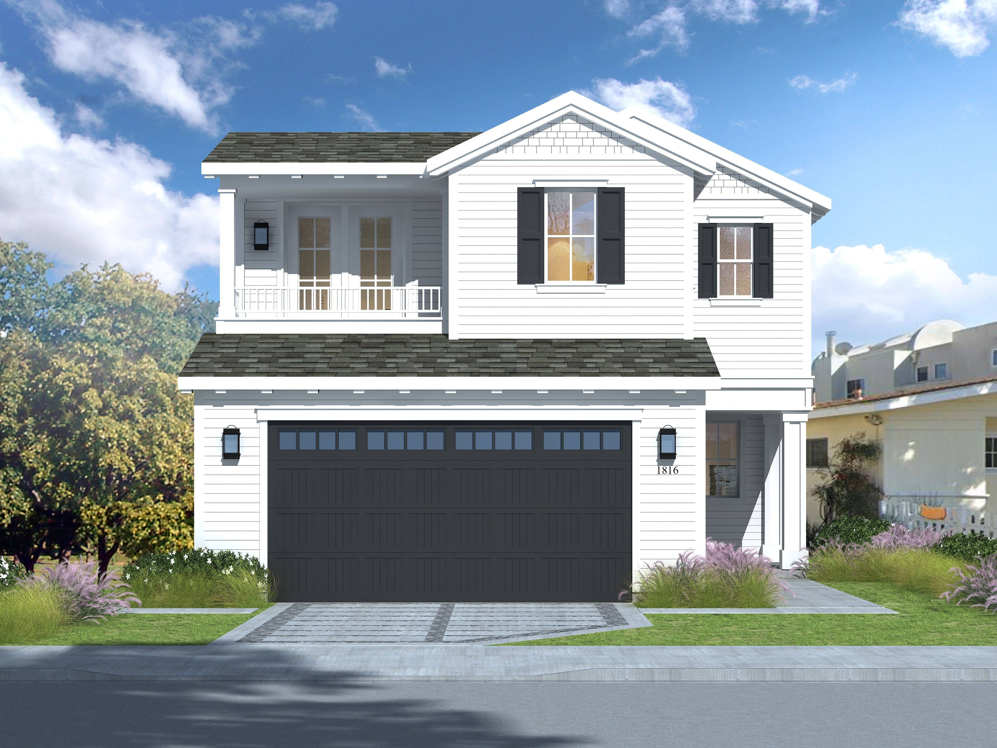 Exterior featured in The Madrone Collection By Thomas James Homes in Los Angeles, CA