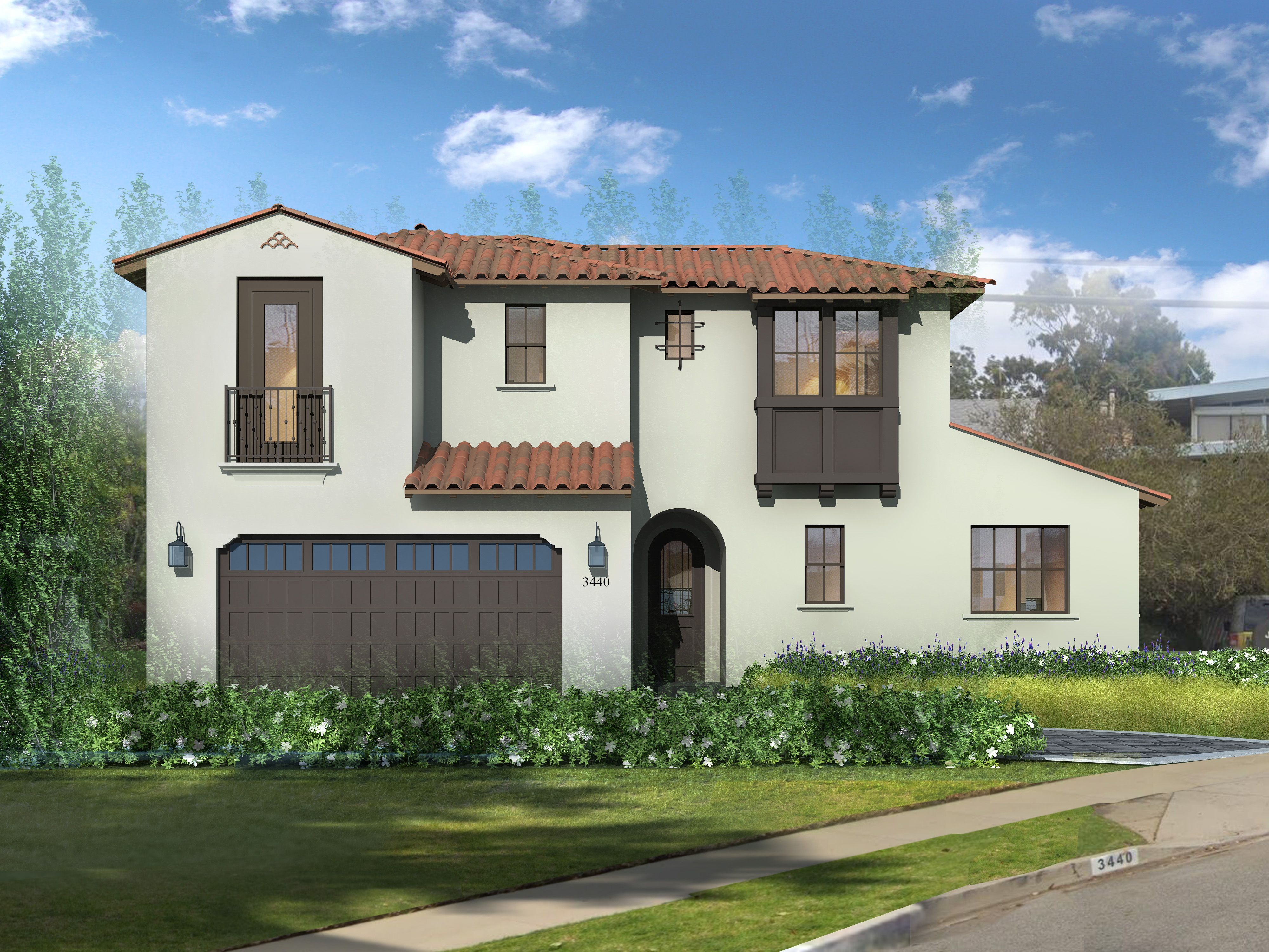 Exterior featured in The Olive Collection By Thomas James Homes in Los Angeles, CA