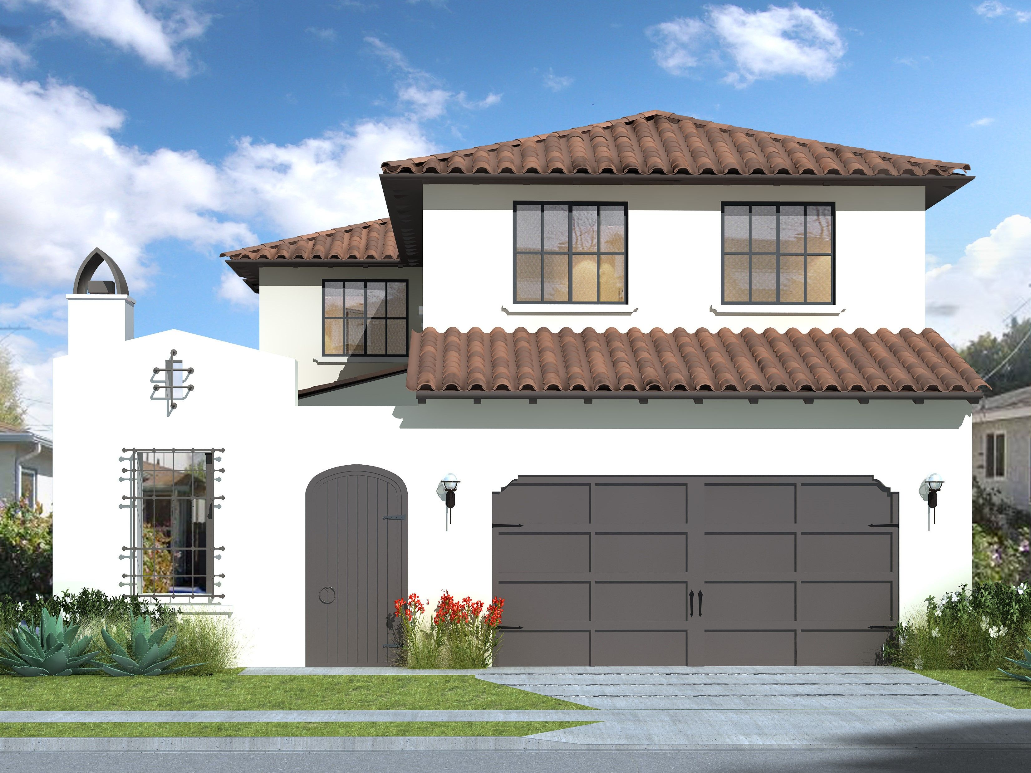 Exterior featured in The Cedar Collection - Spanish By Thomas James Homes in San Francisco, CA