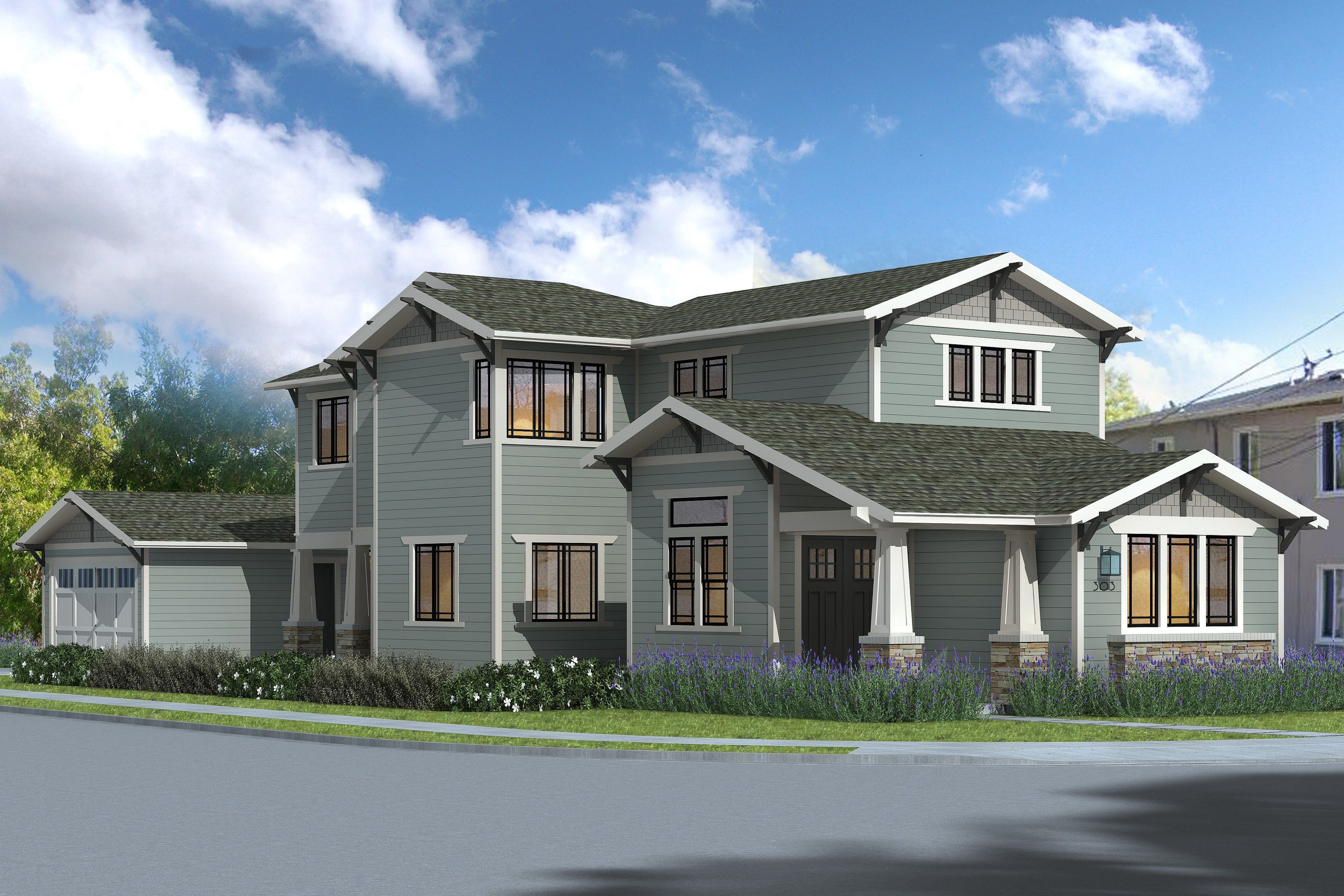 Exterior featured in The Monterey Collection - Craftsman By Thomas James Homes in San Francisco, CA