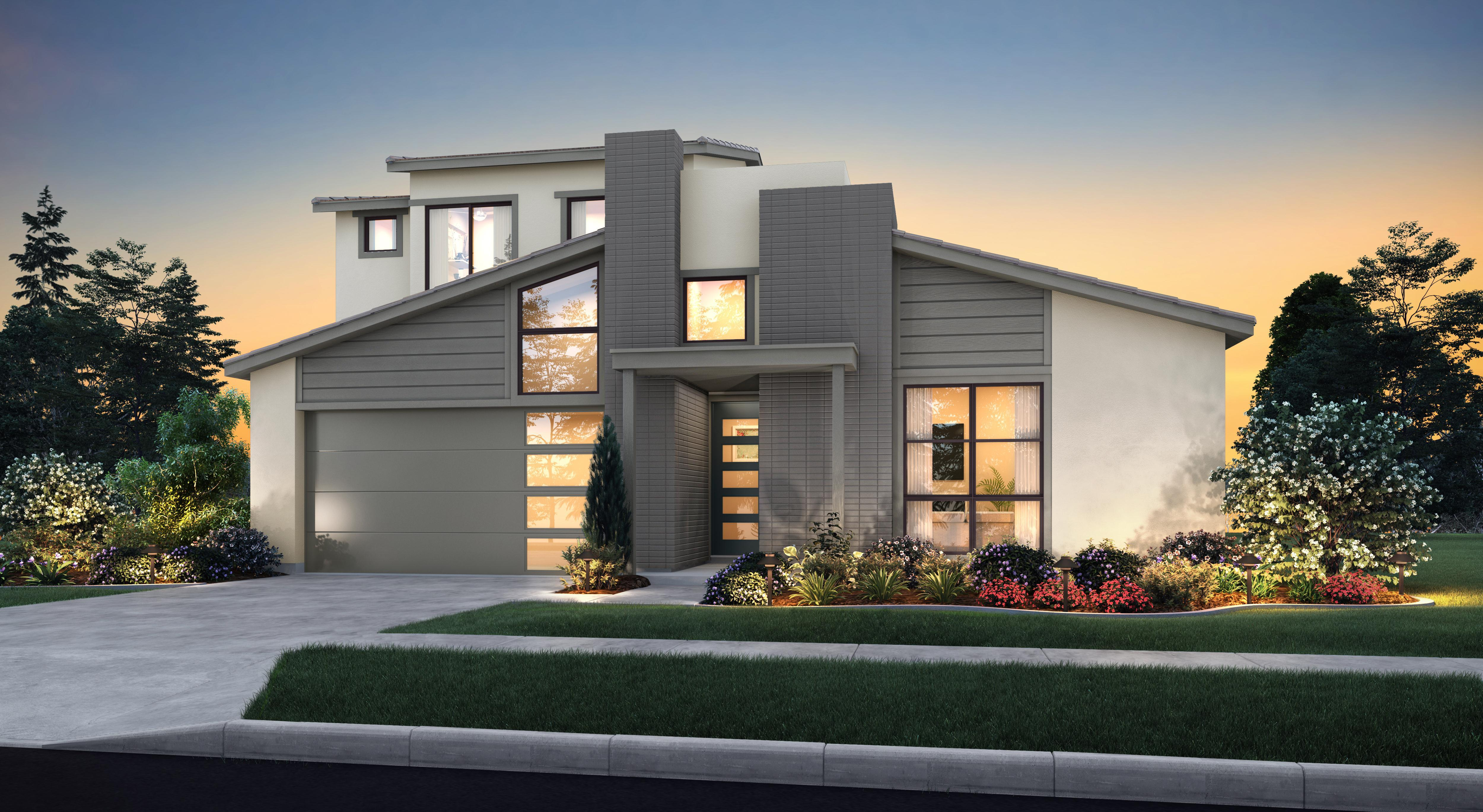 Exterior featured in the Residence One-X By Tim Lewis Communities in Sacramento, CA