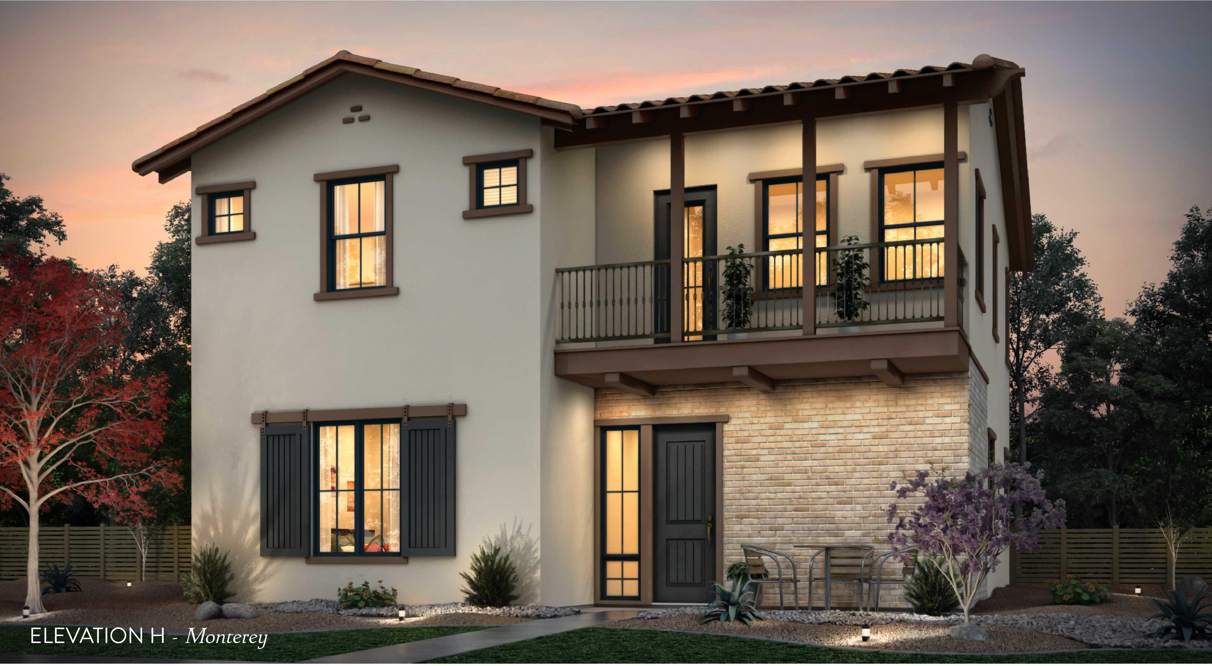 Exterior featured in the Residence Two By Tim Lewis Communities in Sacramento, CA