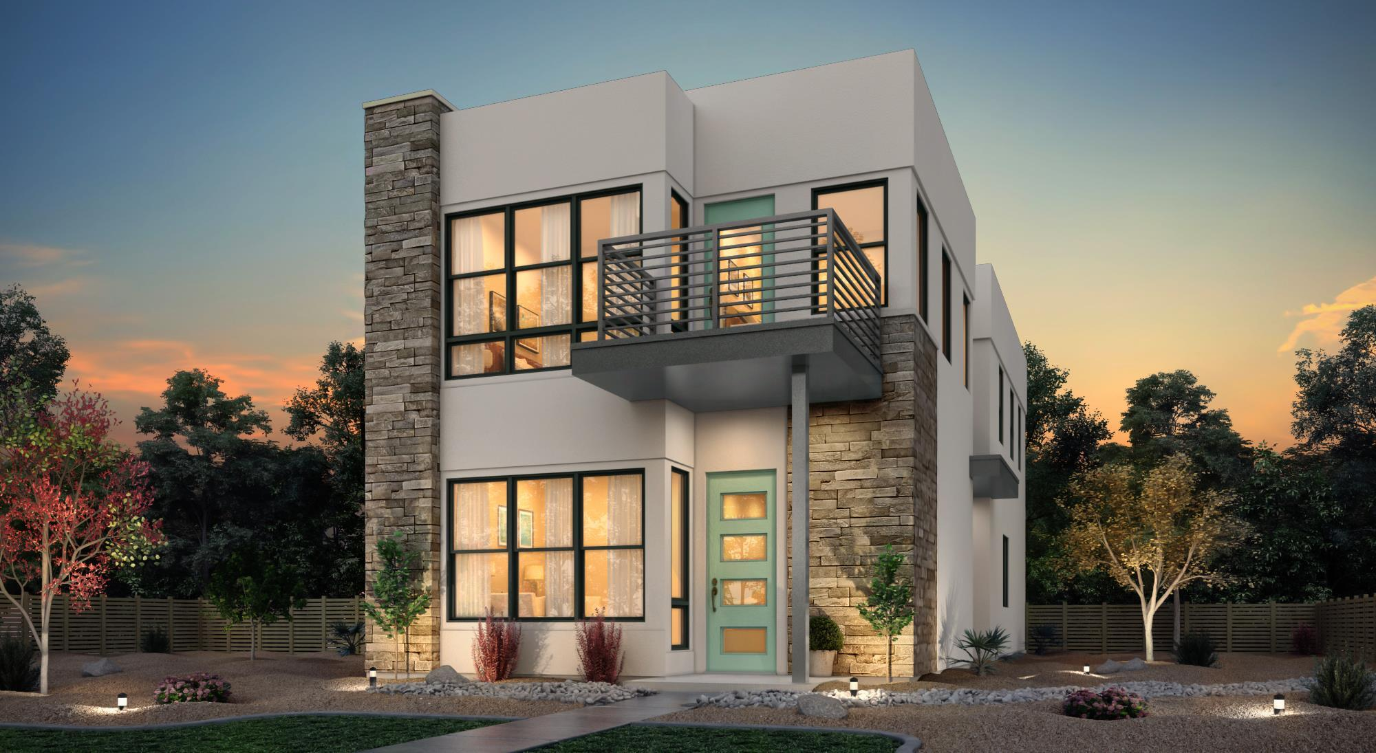 Exterior featured in the Residence Three By Tim Lewis Communities in Sacramento, CA