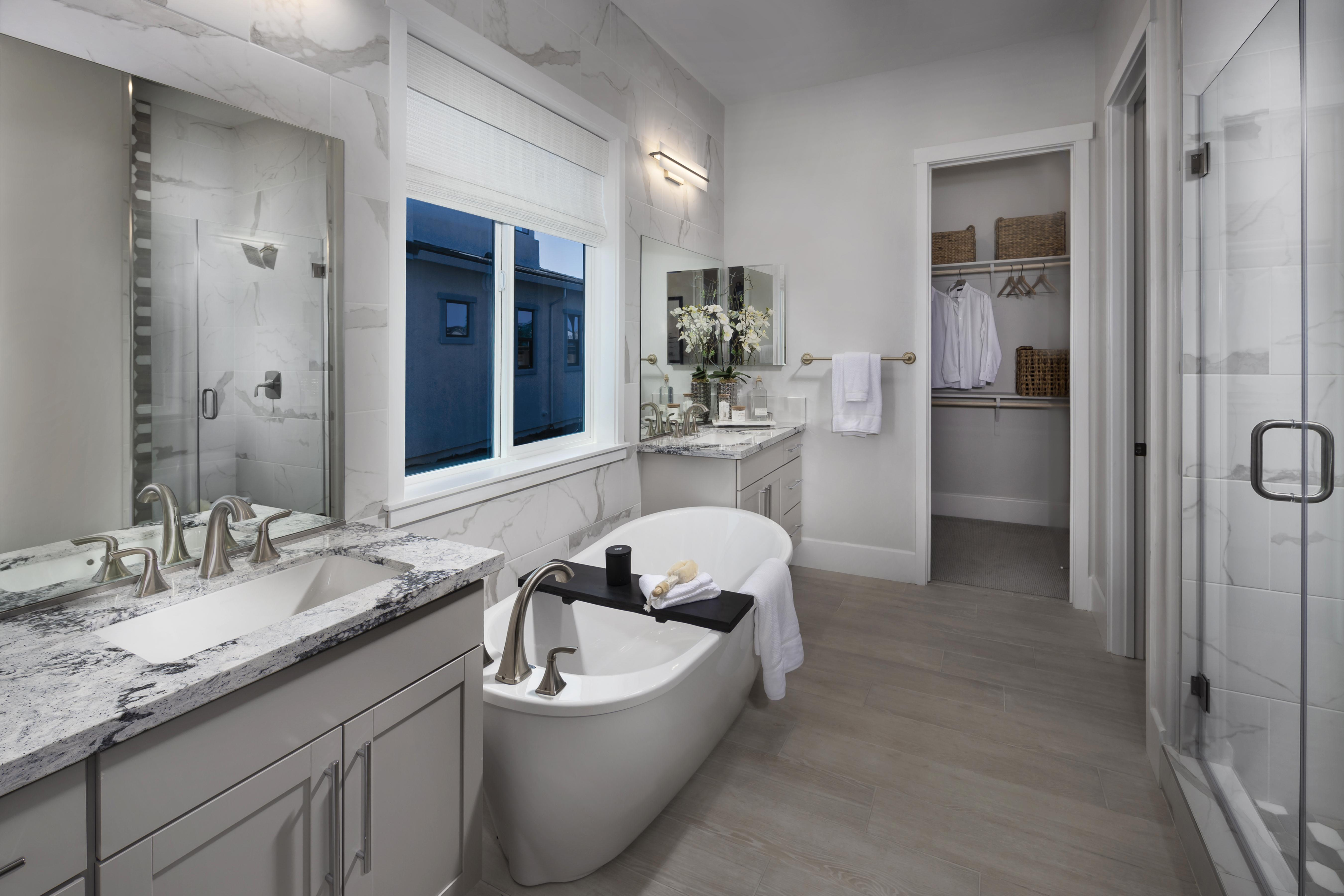 Bathroom featured in the Residence One-X By Tim Lewis Communities in Sacramento, CA
