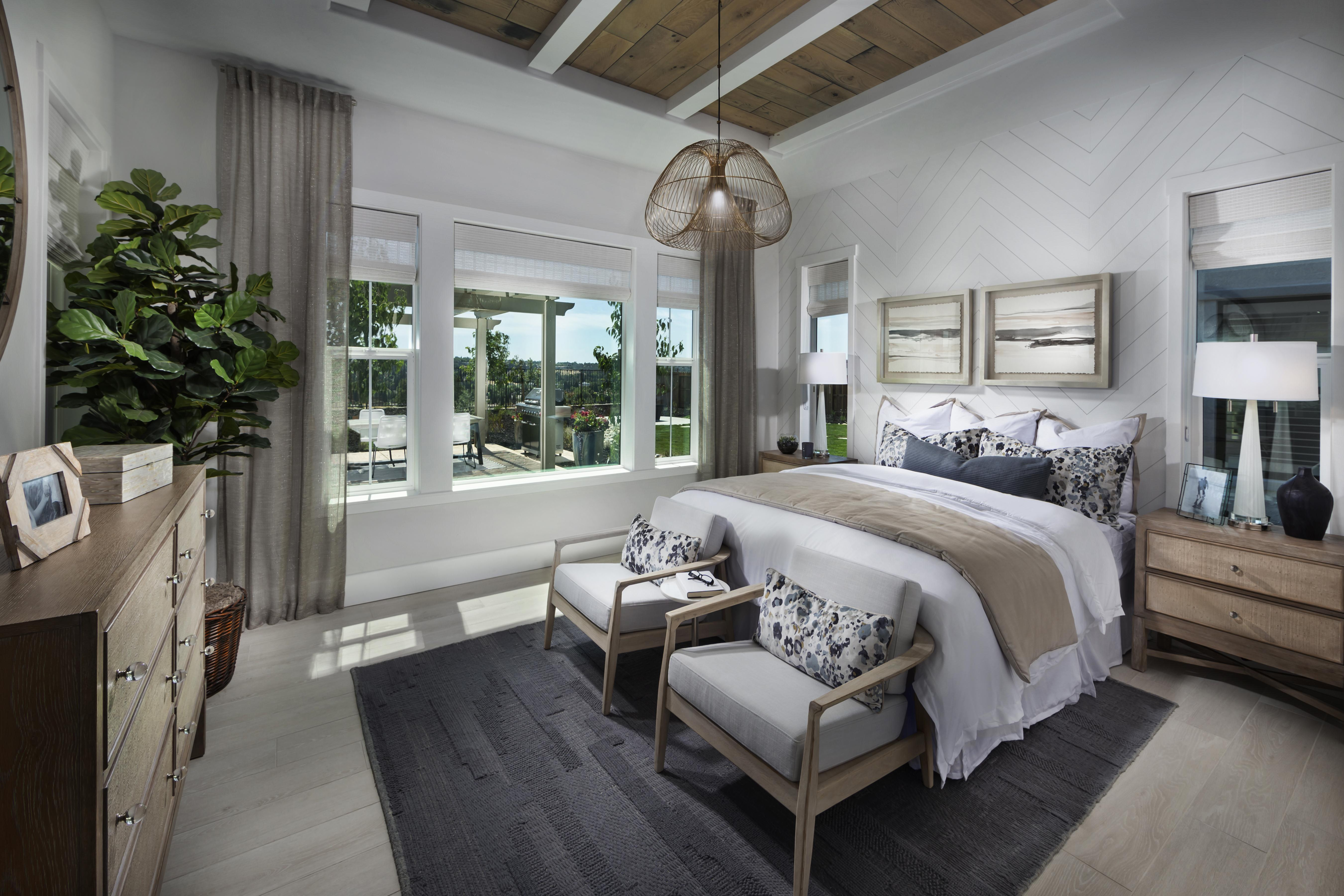 Bedroom featured in the Residence One-X By Tim Lewis Communities in Sacramento, CA