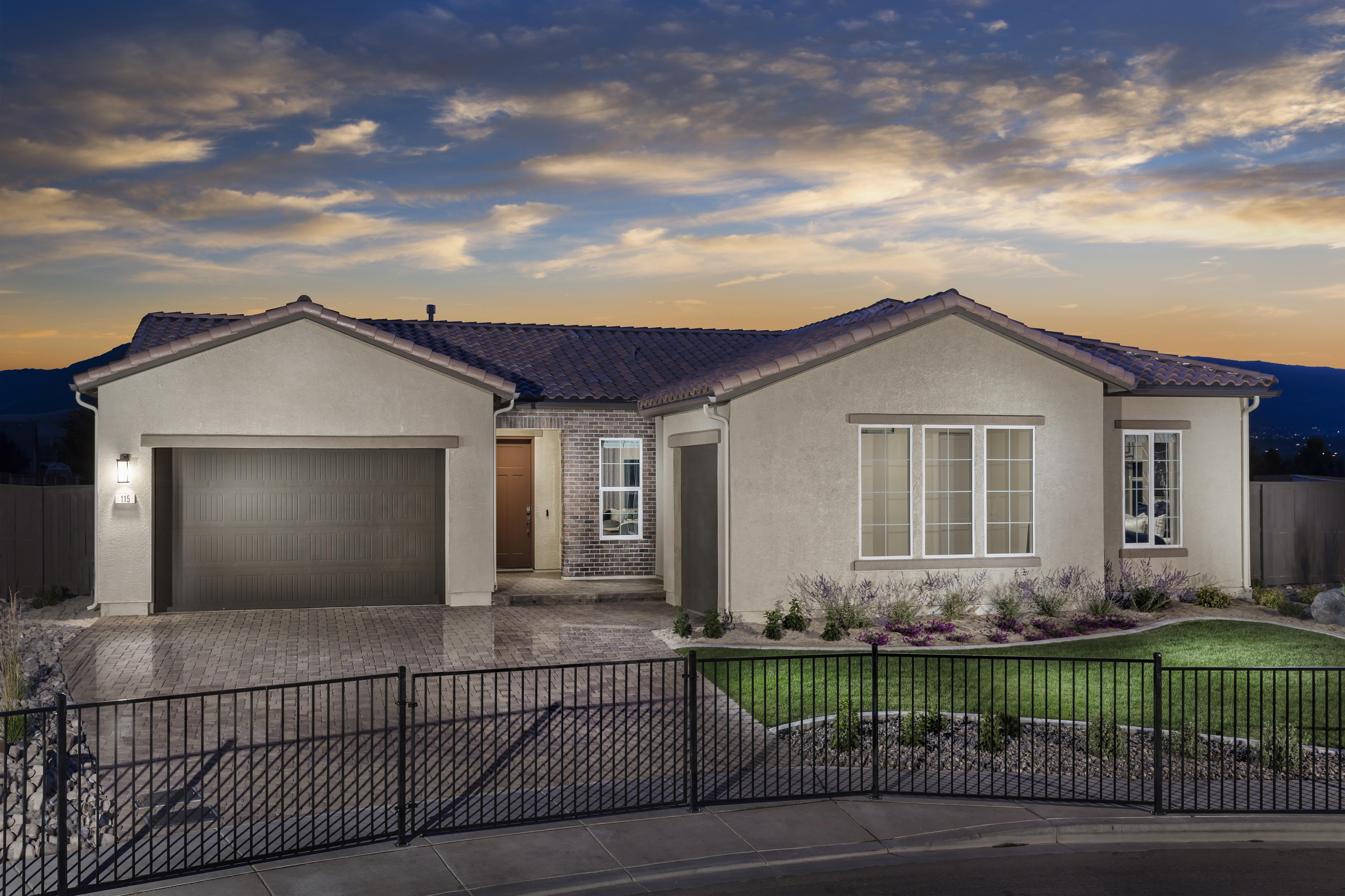 Exterior featured in the Plan 2 By Tim Lewis Communities in Reno, NV
