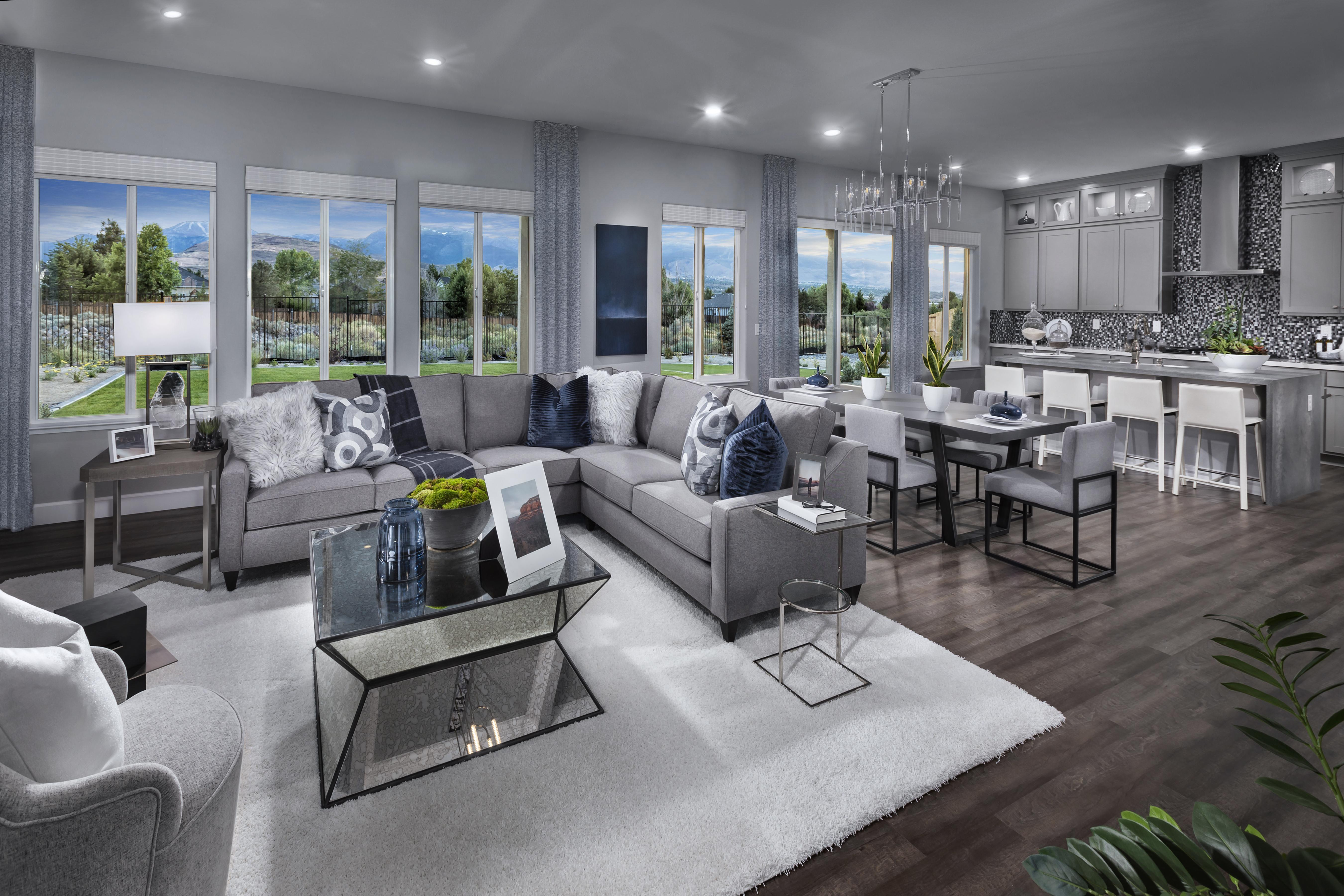 Living Area featured in the Plan 2 By Tim Lewis Communities in Reno, NV