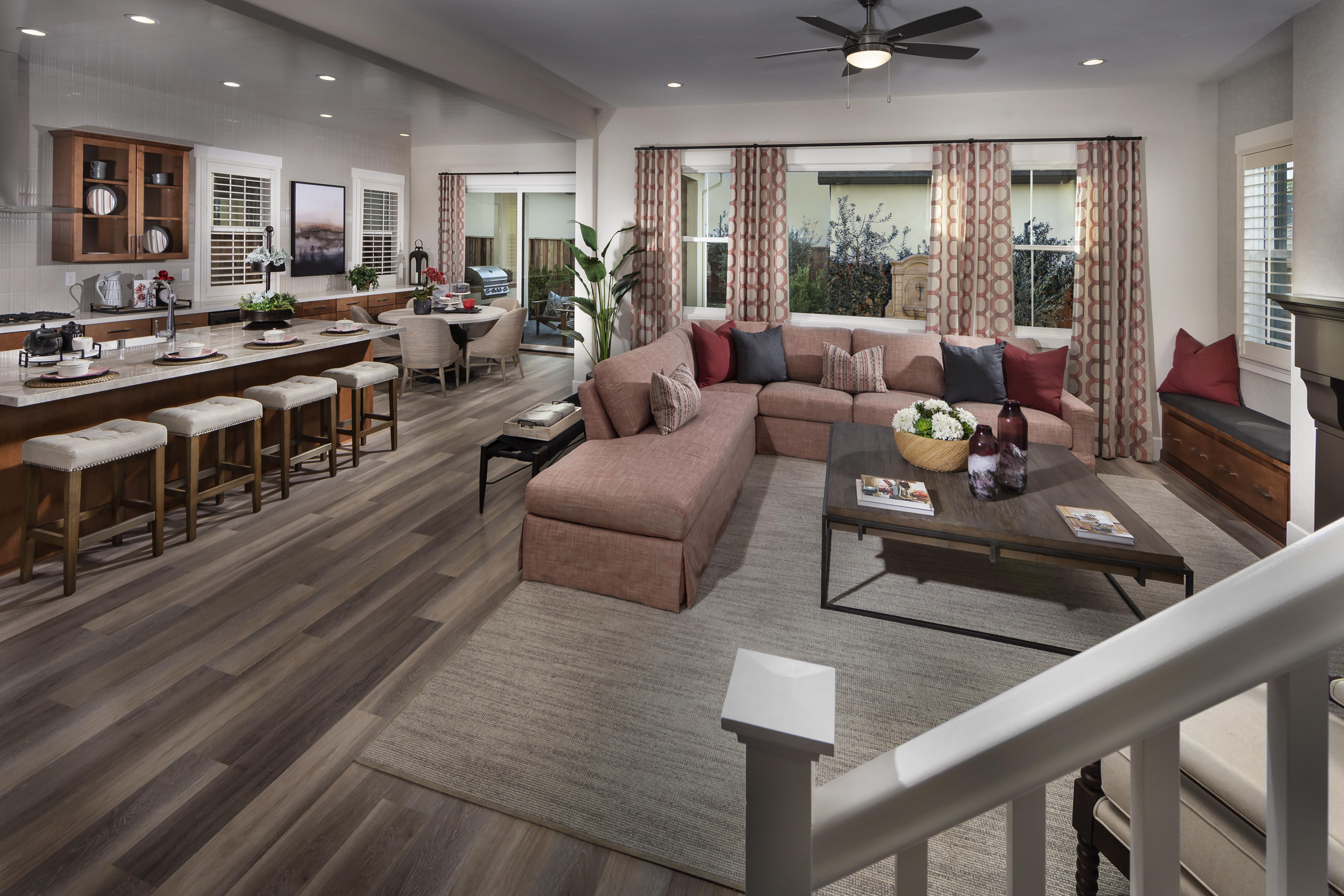Living Area featured in the Residence Two By Tim Lewis Communities in Sacramento, CA