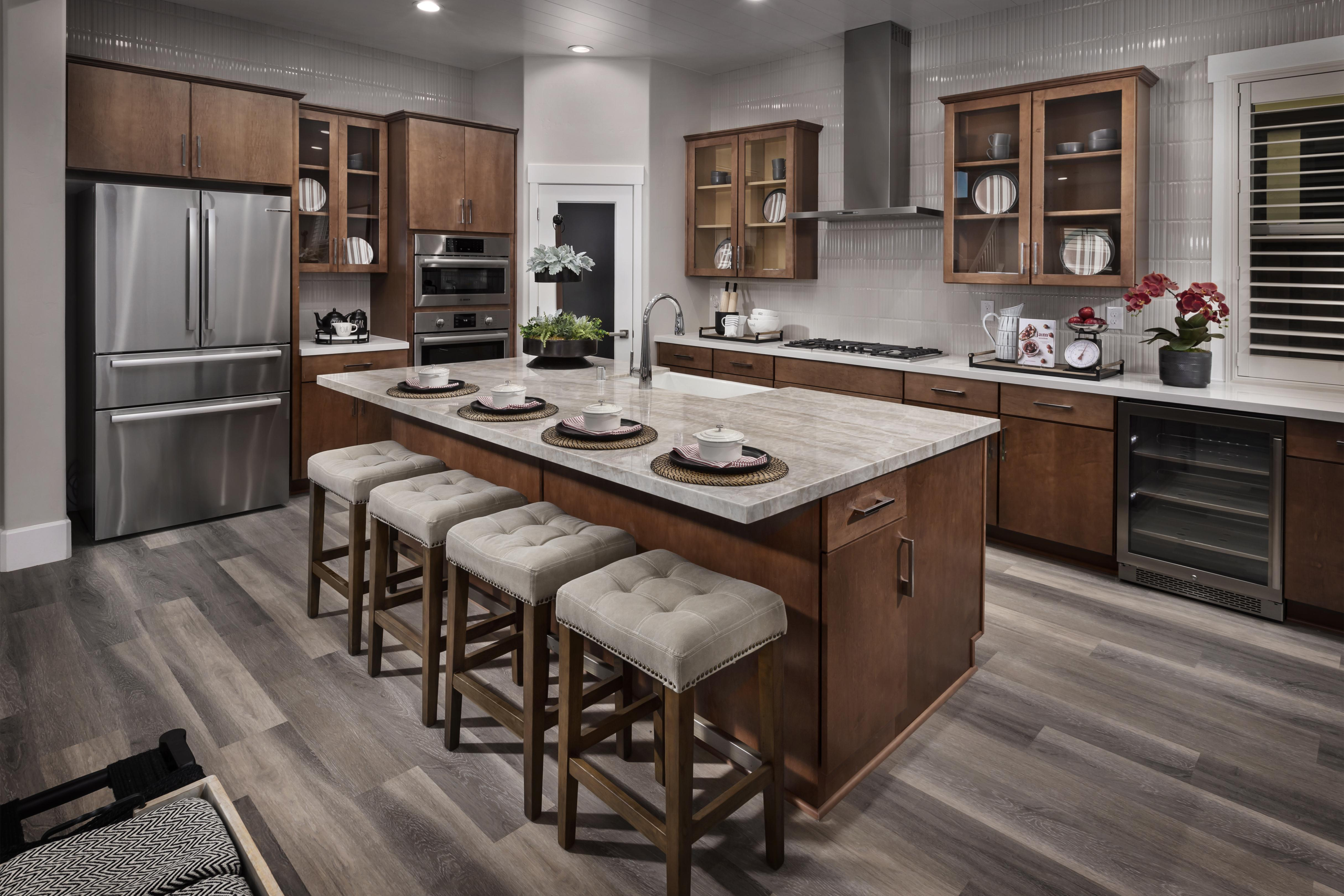 Kitchen featured in the Residence Two By Tim Lewis Communities in Sacramento, CA