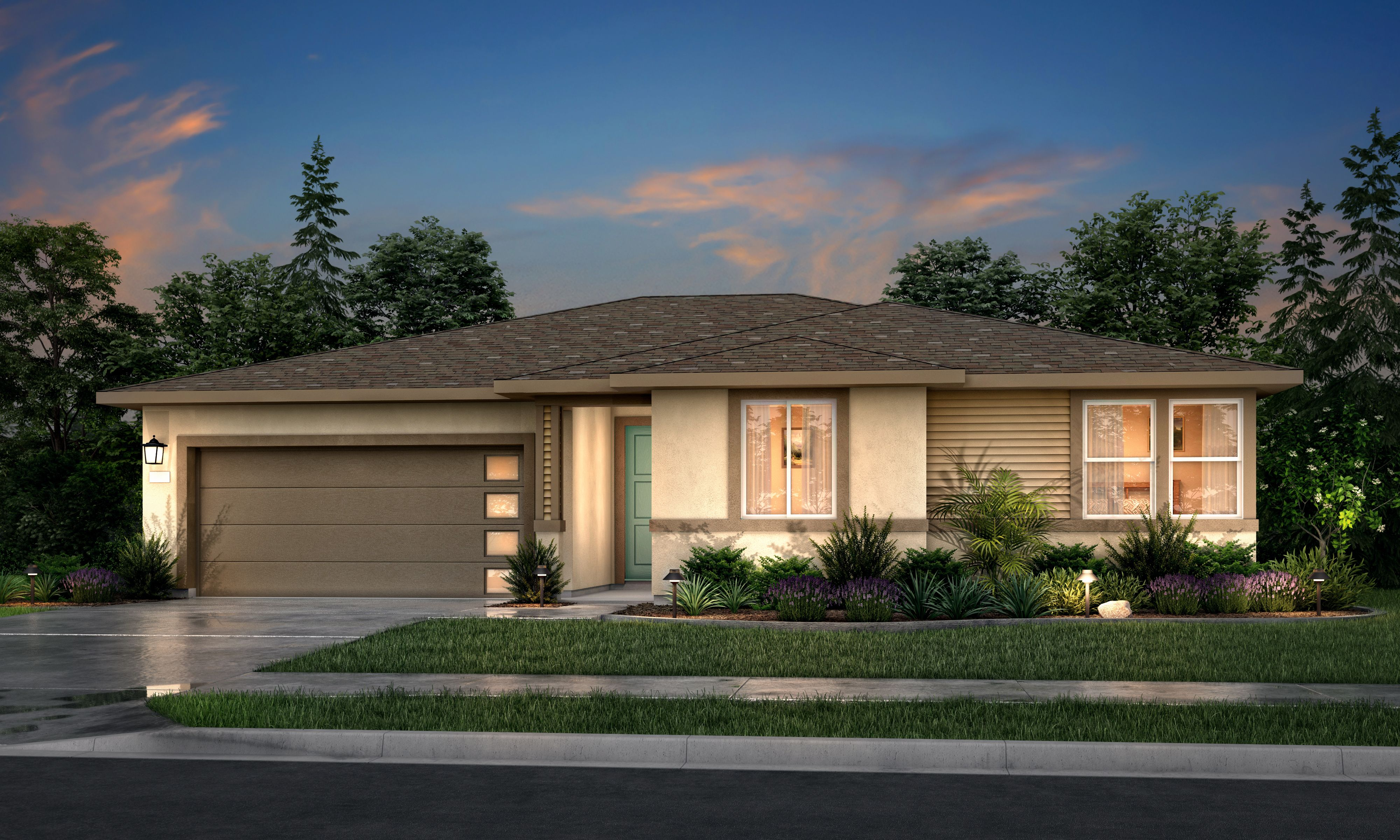 Exterior featured in the Residence 1 By Tim Lewis Communities in Sacramento, CA
