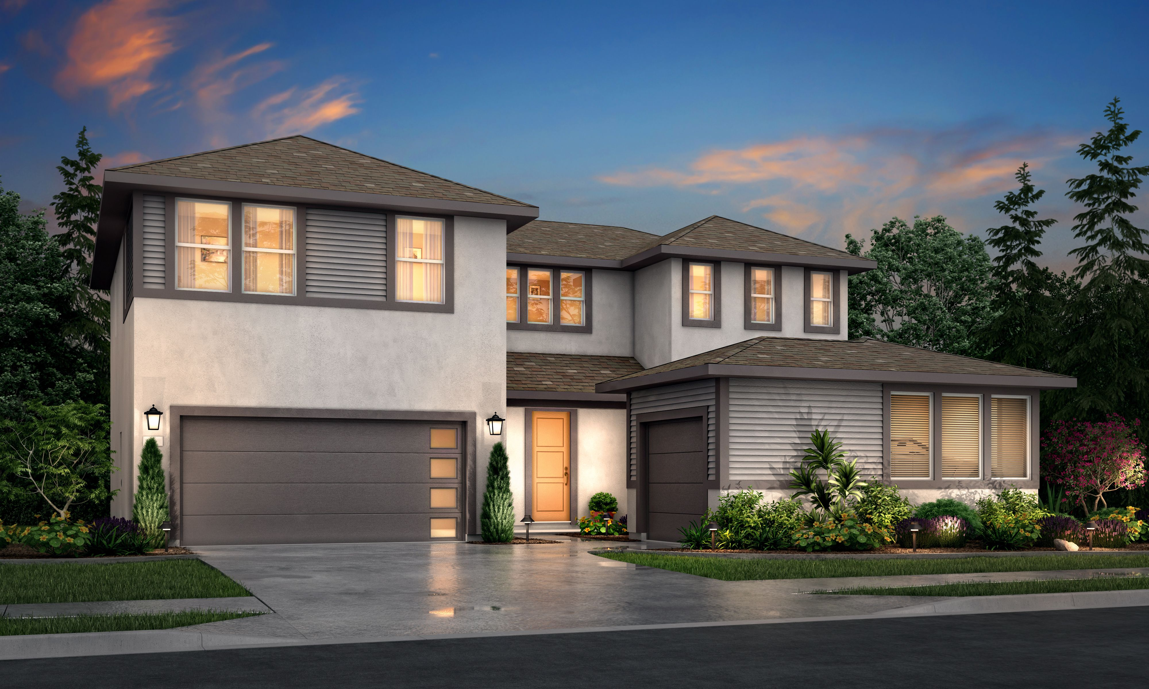 Exterior featured in the Residence 5 By Tim Lewis Communities in Sacramento, CA
