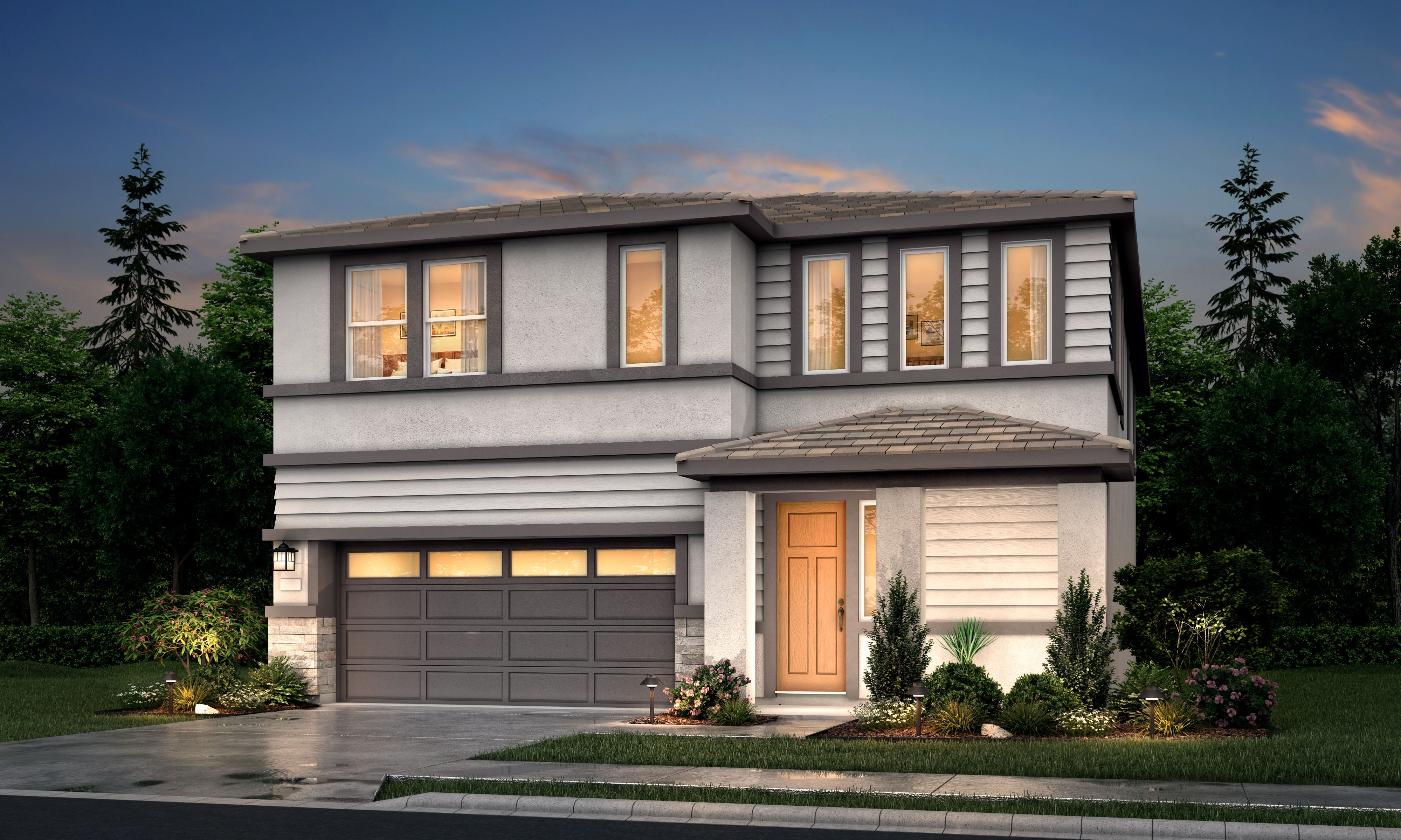 Exterior featured in the Residence 2 By Tim Lewis Communities in Sacramento, CA