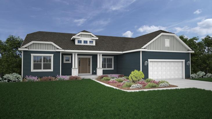 The Kendall:Craftsman Elevation