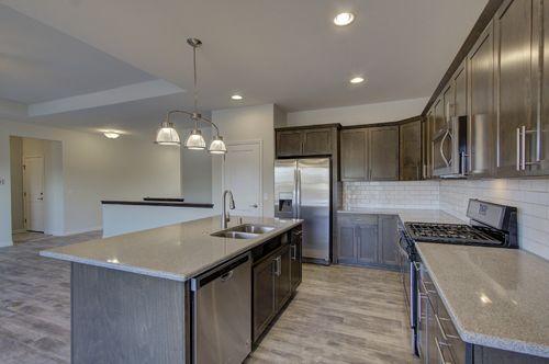 Kitchen-in-Chestnut-at-Providence-in-Sun Prairie