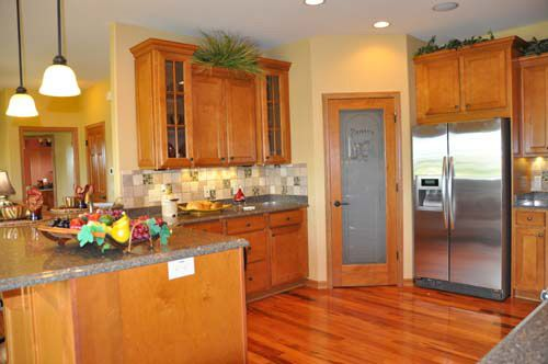 Kitchen-in-Evergreen-at-Wolf Hollow-in-Windsor