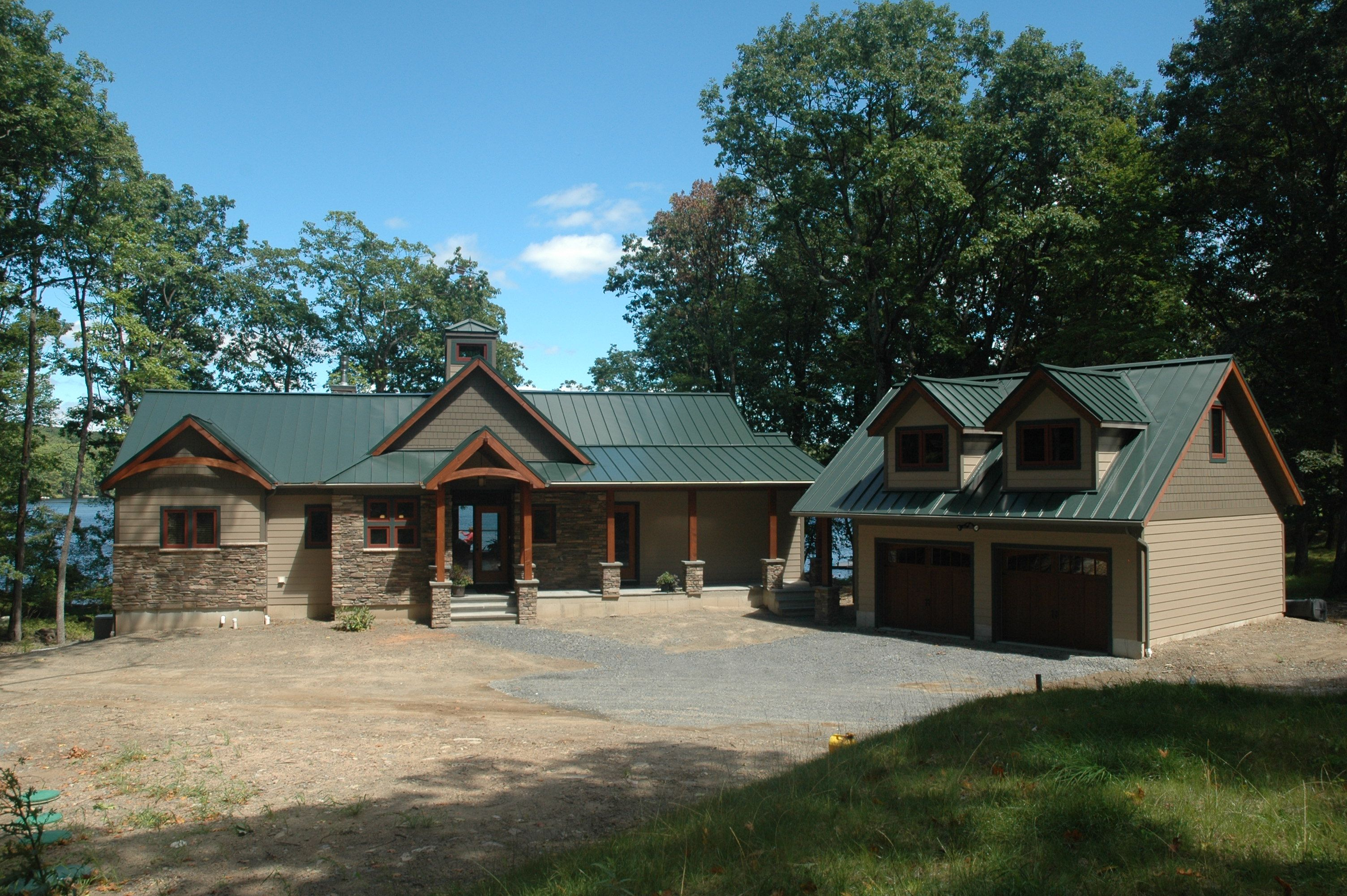 Exterior featured in the Custom By Timbercrest Builders in Poconos, PA