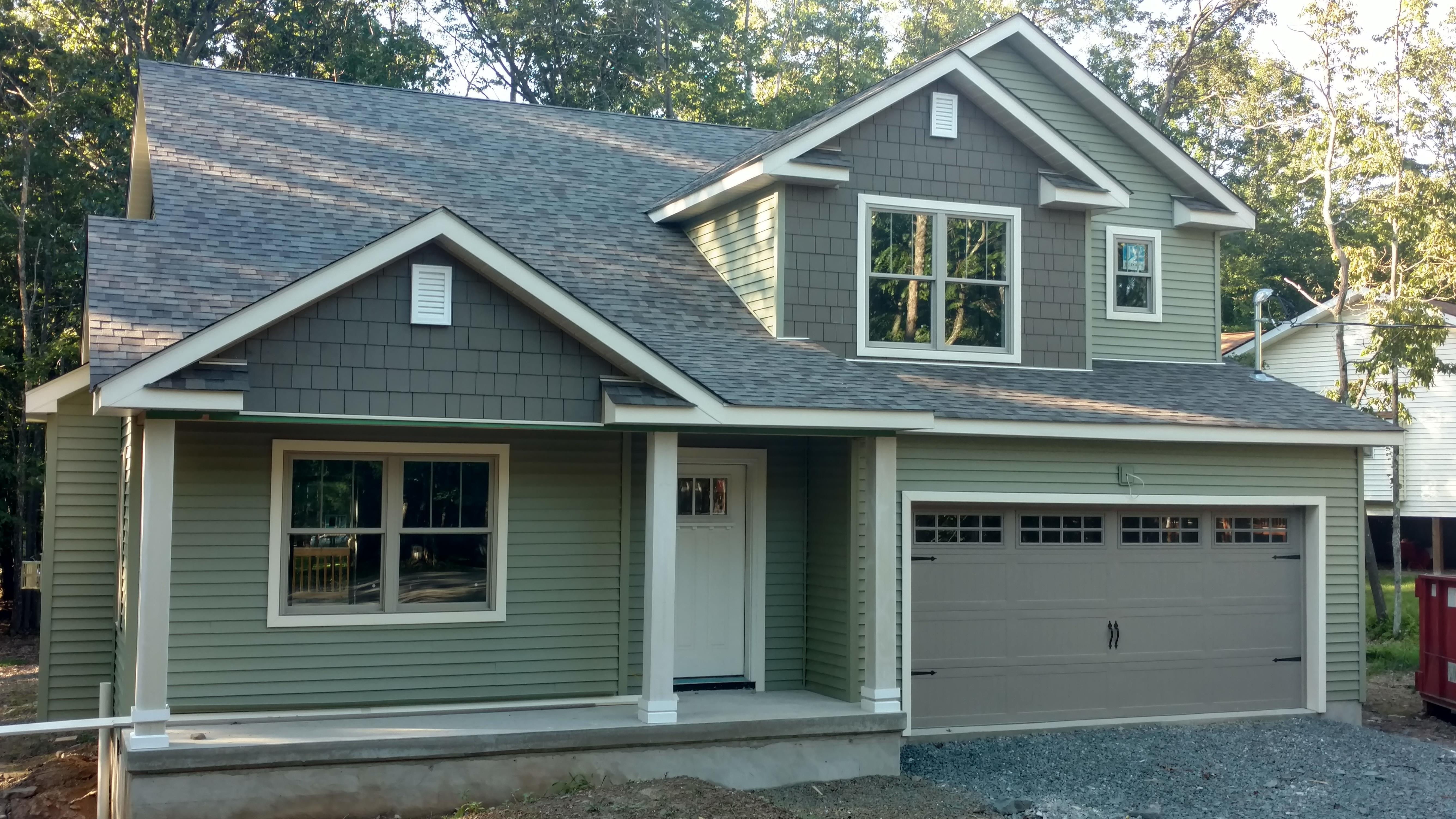 Exterior featured in The Hawthorn By Timbercrest Builders in Poconos, PA