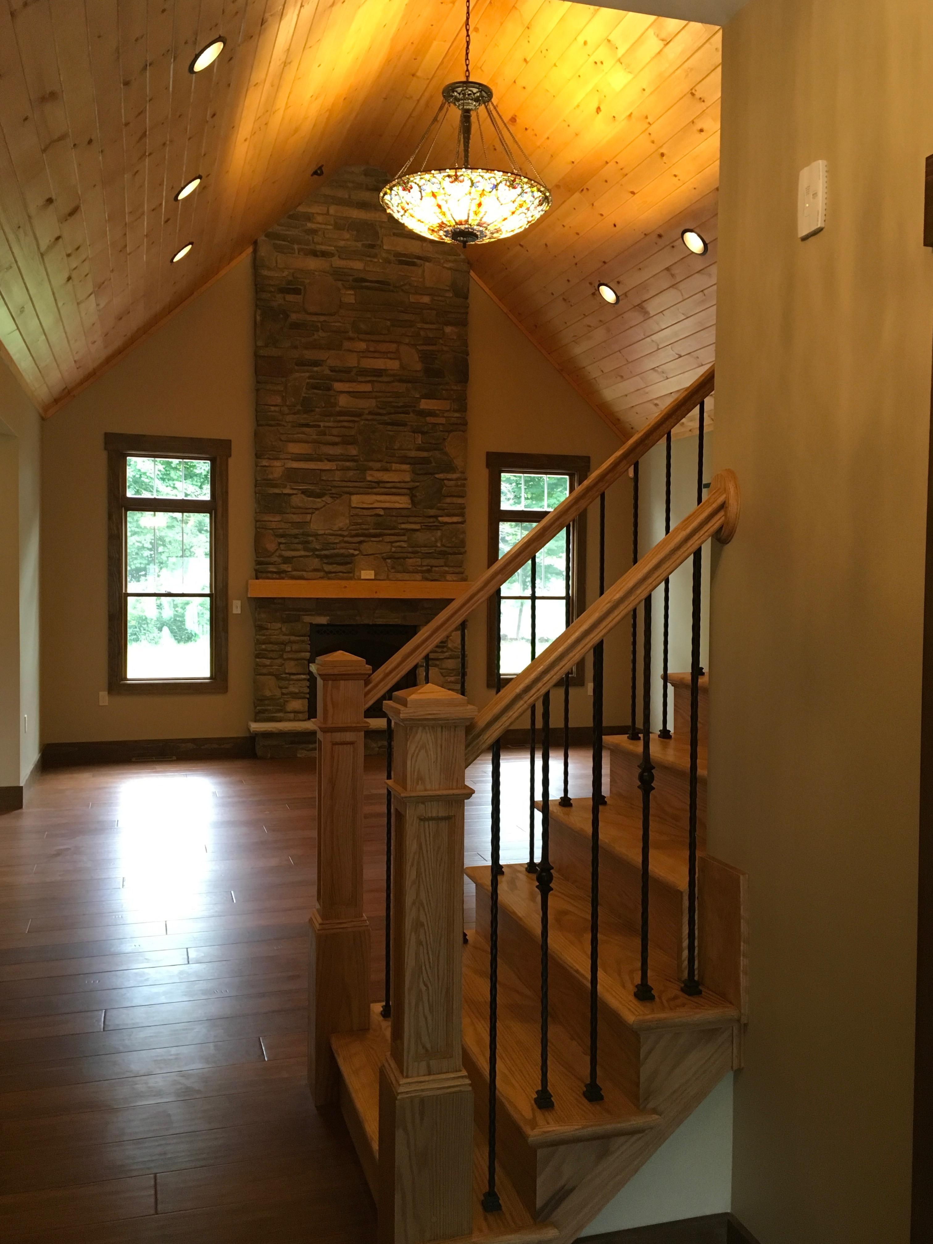 Living Area featured in The Butternut By Timbercrest Builders in Poconos, PA