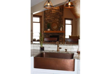 Wet-Bar-in-The Butternut-at-Timbercrest Builders-in-Paupack