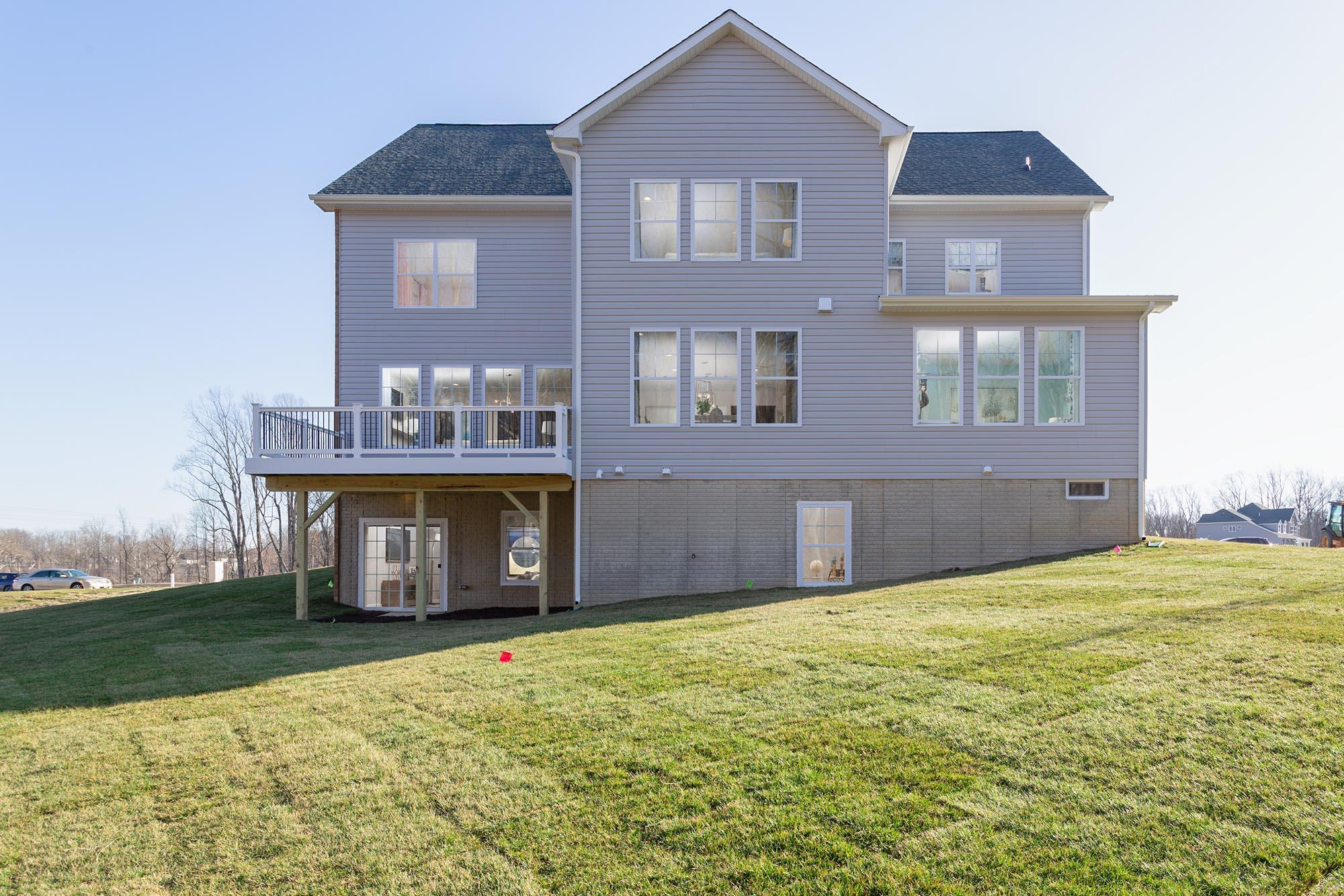 Exterior featured in the Linden By Timberlake Homes in Washington, MD