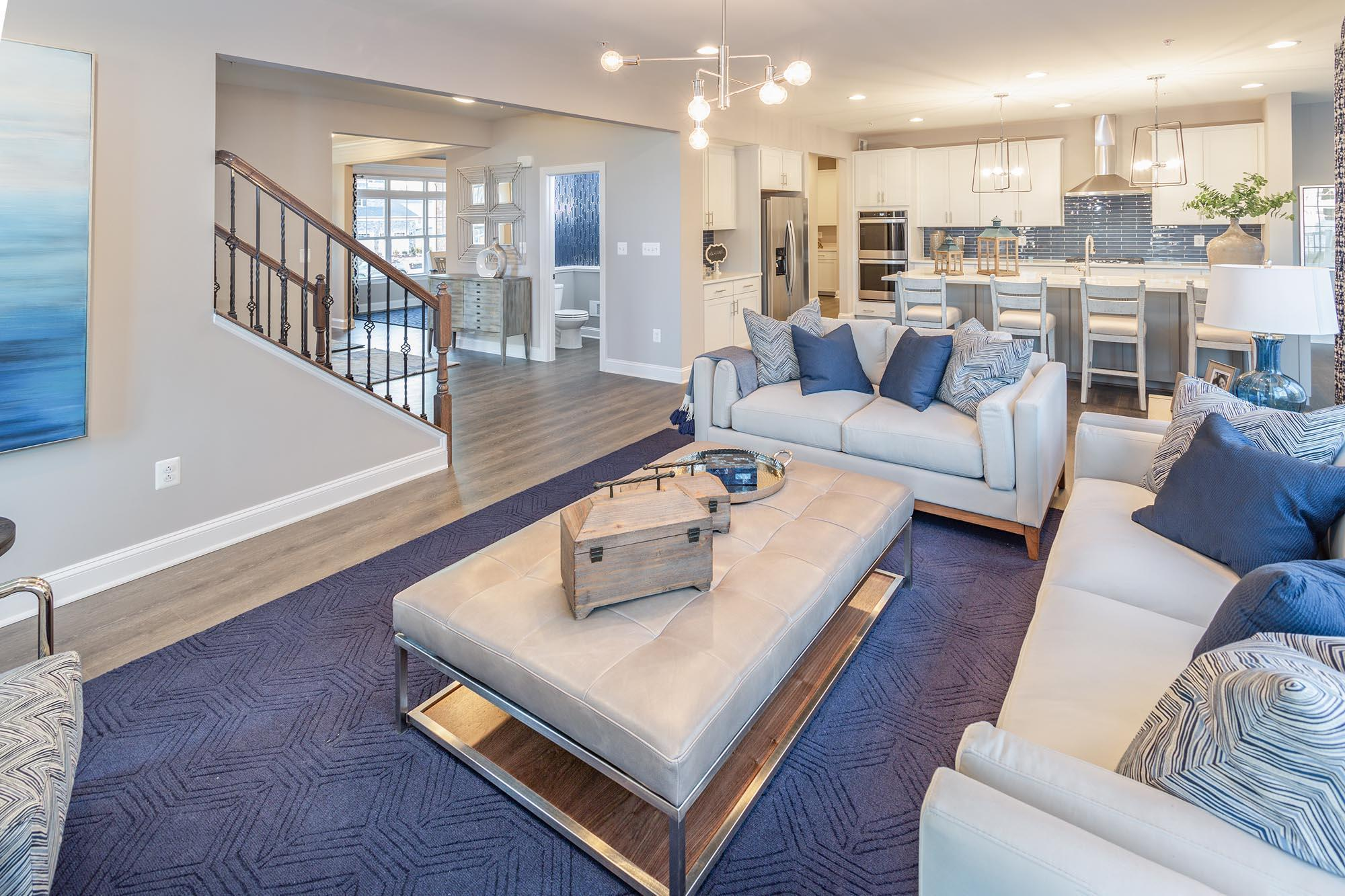 Living Area featured in the Linden By Timberlake Homes in Dover, DE
