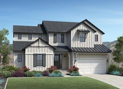 Porter - Canyon Point at Traverse Mountain - The Cascade Collection: Lehi, Utah - Toll Brothers