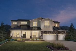 Friberg - Canyon Point at Traverse Mountain - The Summit Collection: Lehi, Utah - Toll Brothers
