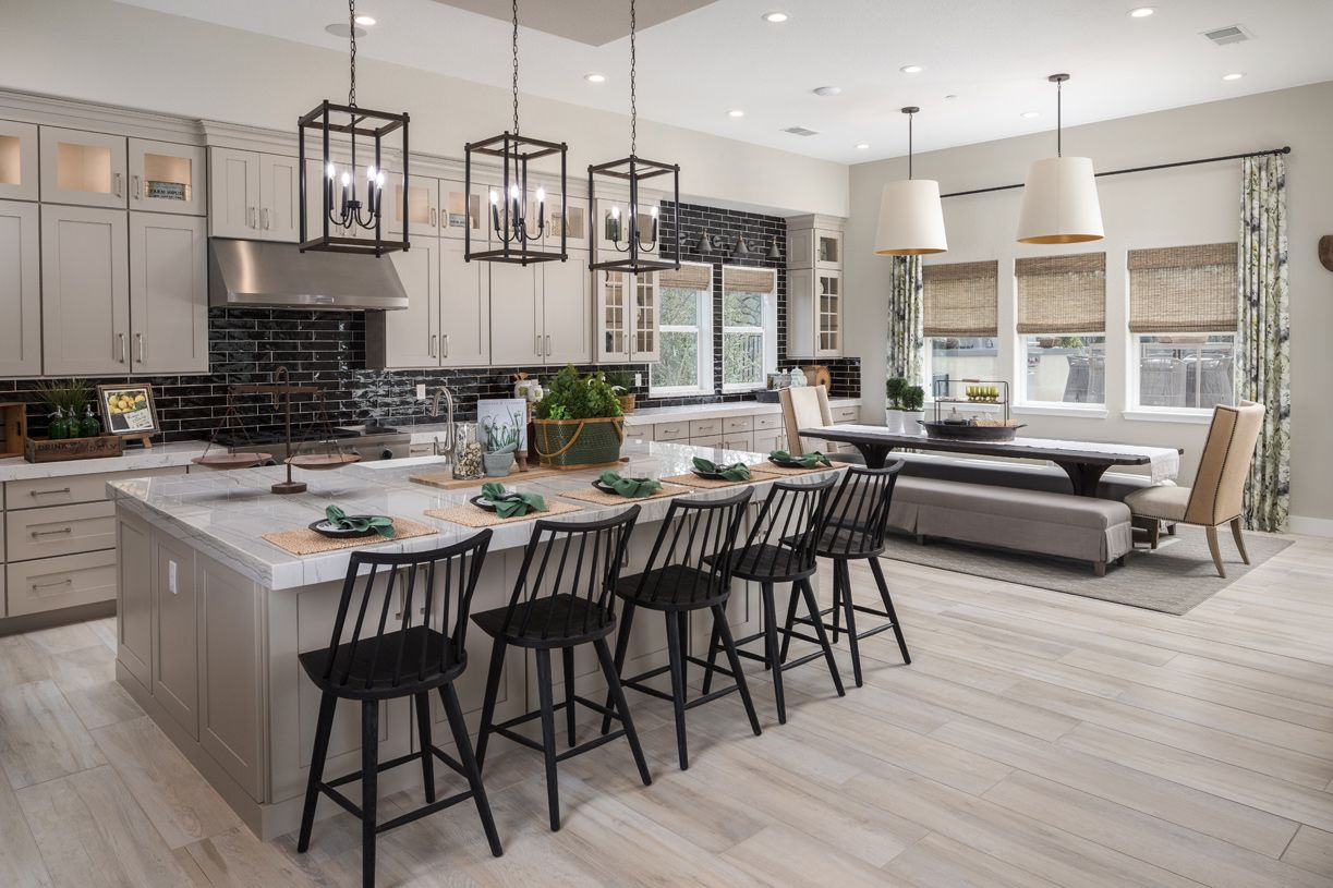Kitchen featured in the Lincoln By Toll Brothers in Sacramento, CA