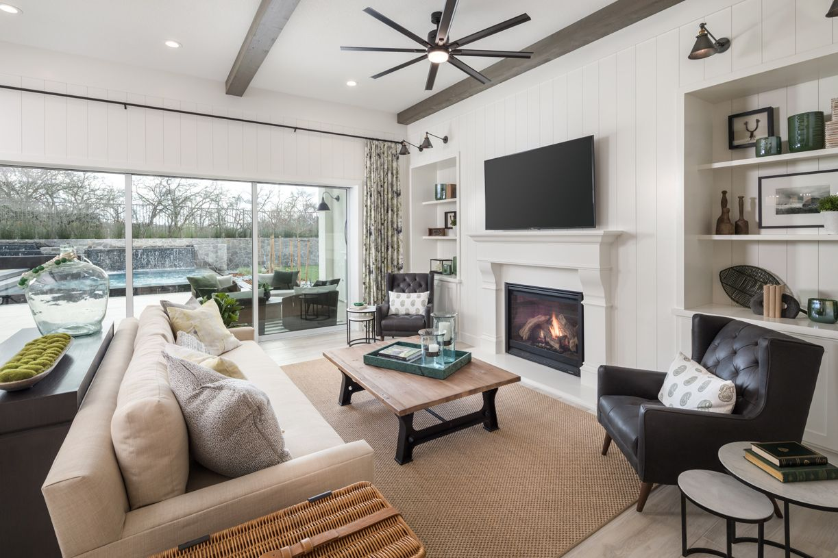Living Area featured in the Lincoln By Toll Brothers in Sacramento, CA