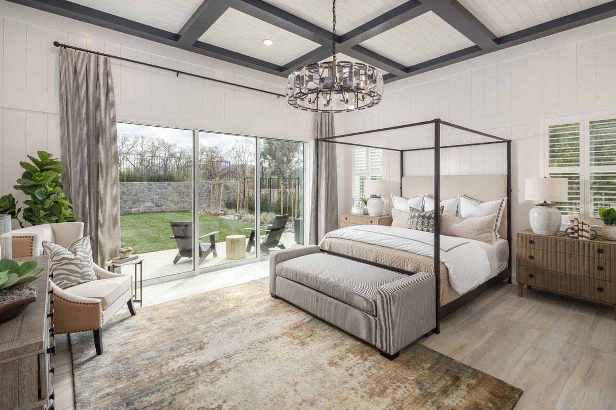 Bedroom featured in the Lincoln By Toll Brothers in Sacramento, CA
