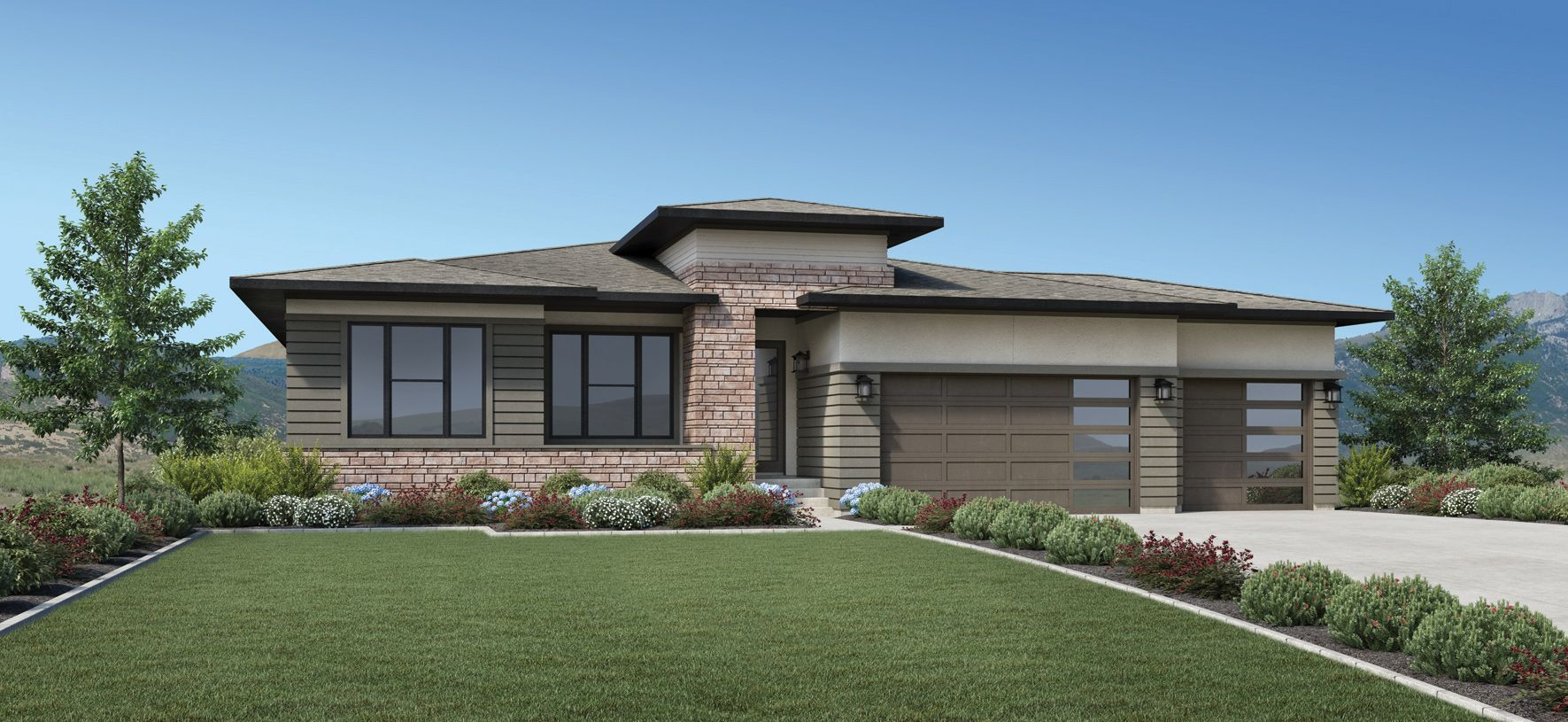Exterior featured in the Grant By Toll Brothers in Salt Lake City-Ogden, UT