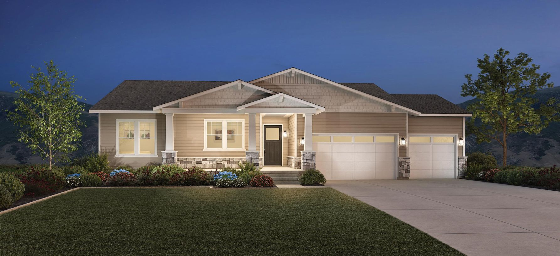 Exterior featured in the Asher By Toll Brothers in Salt Lake City-Ogden, UT