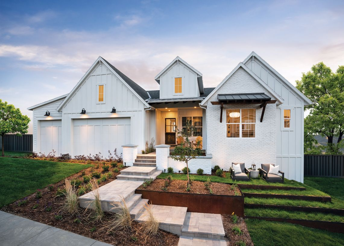 Exterior featured in the Evans By Toll Brothers in Salt Lake City-Ogden, UT