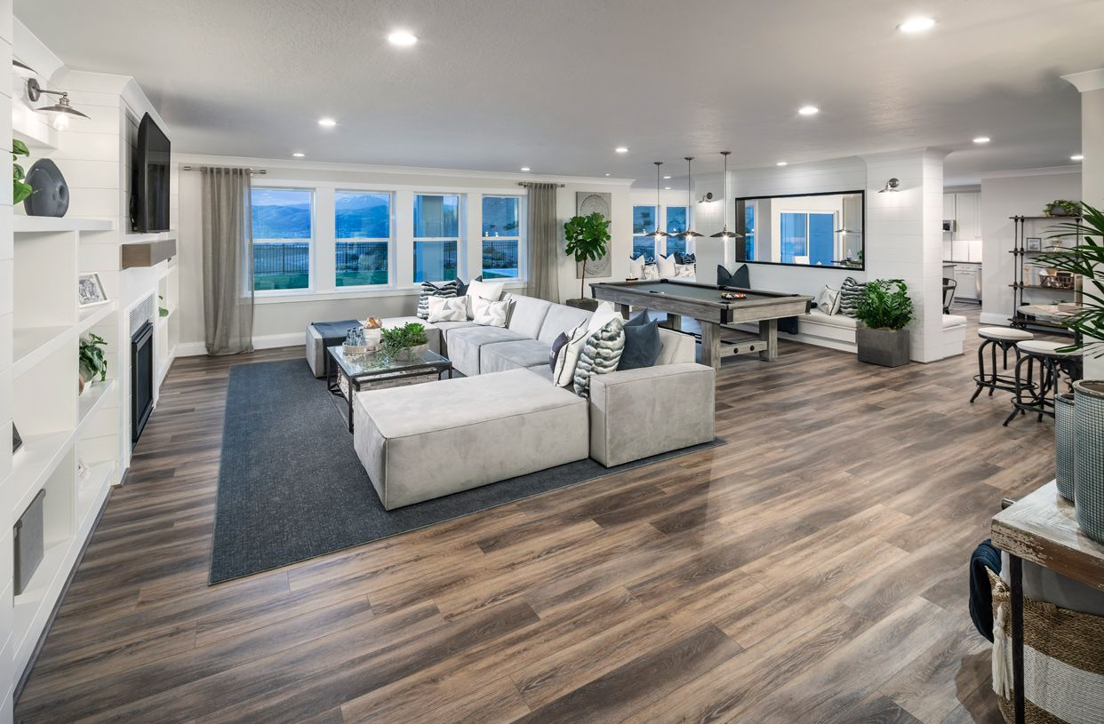 Living Area featured in the Evans By Toll Brothers in Provo-Orem, UT