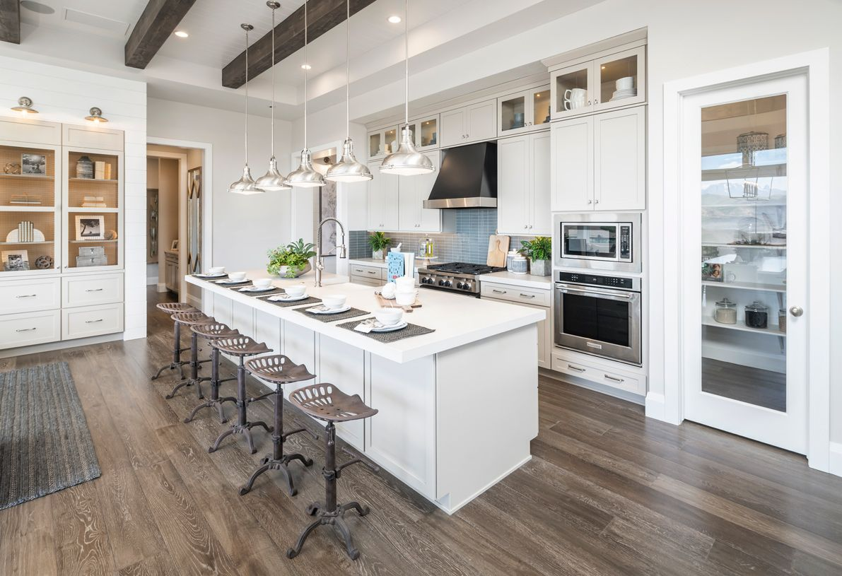 Kitchen featured in the Evans By Toll Brothers in Provo-Orem, UT