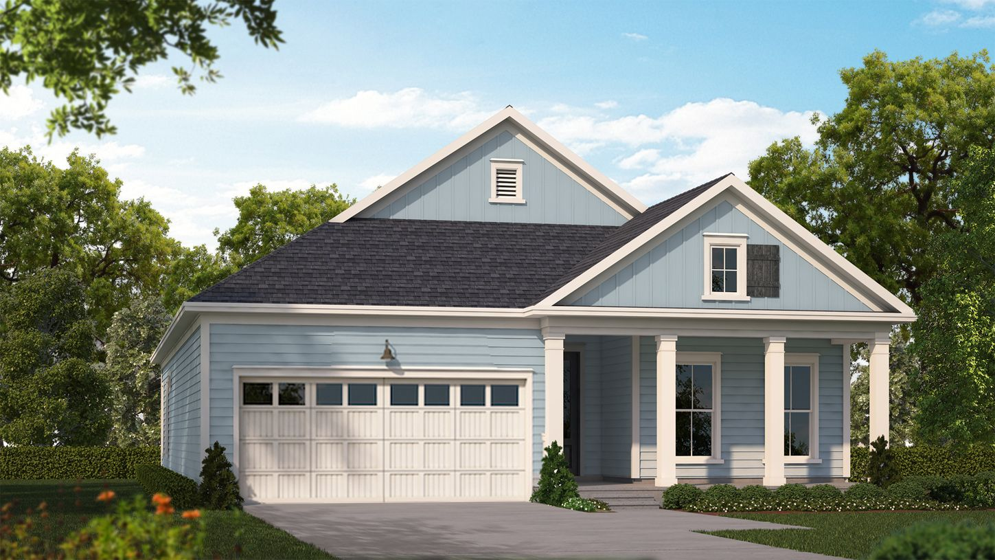 Exterior featured in the Wren By Toll Brothers in Myrtle Beach, SC