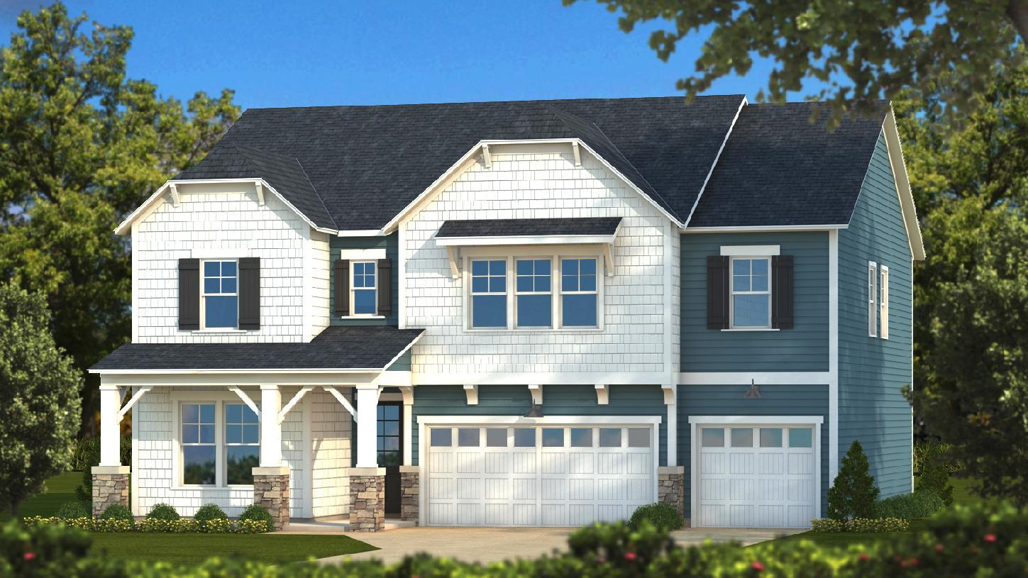 Exterior featured in the Oconee By Toll Brothers in Greenville-Spartanburg, SC