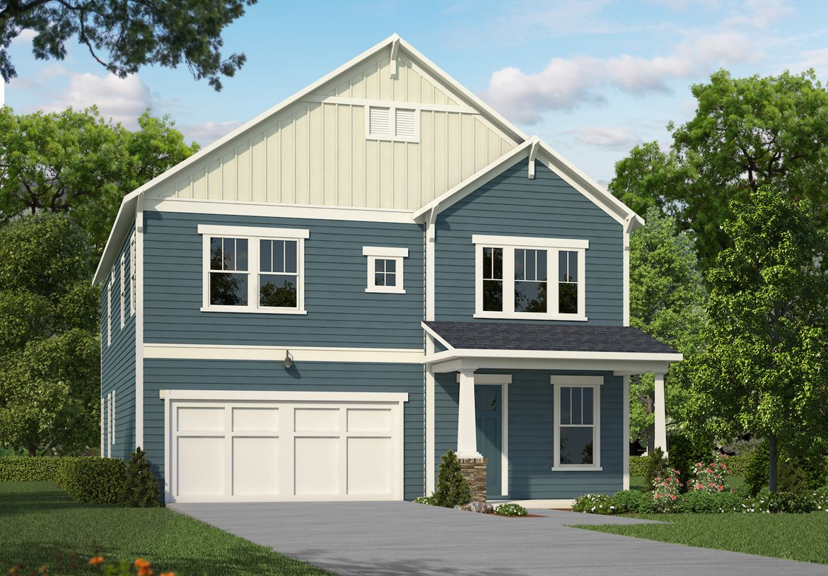 Exterior featured in the Taylor By Toll Brothers in Greenville-Spartanburg, SC