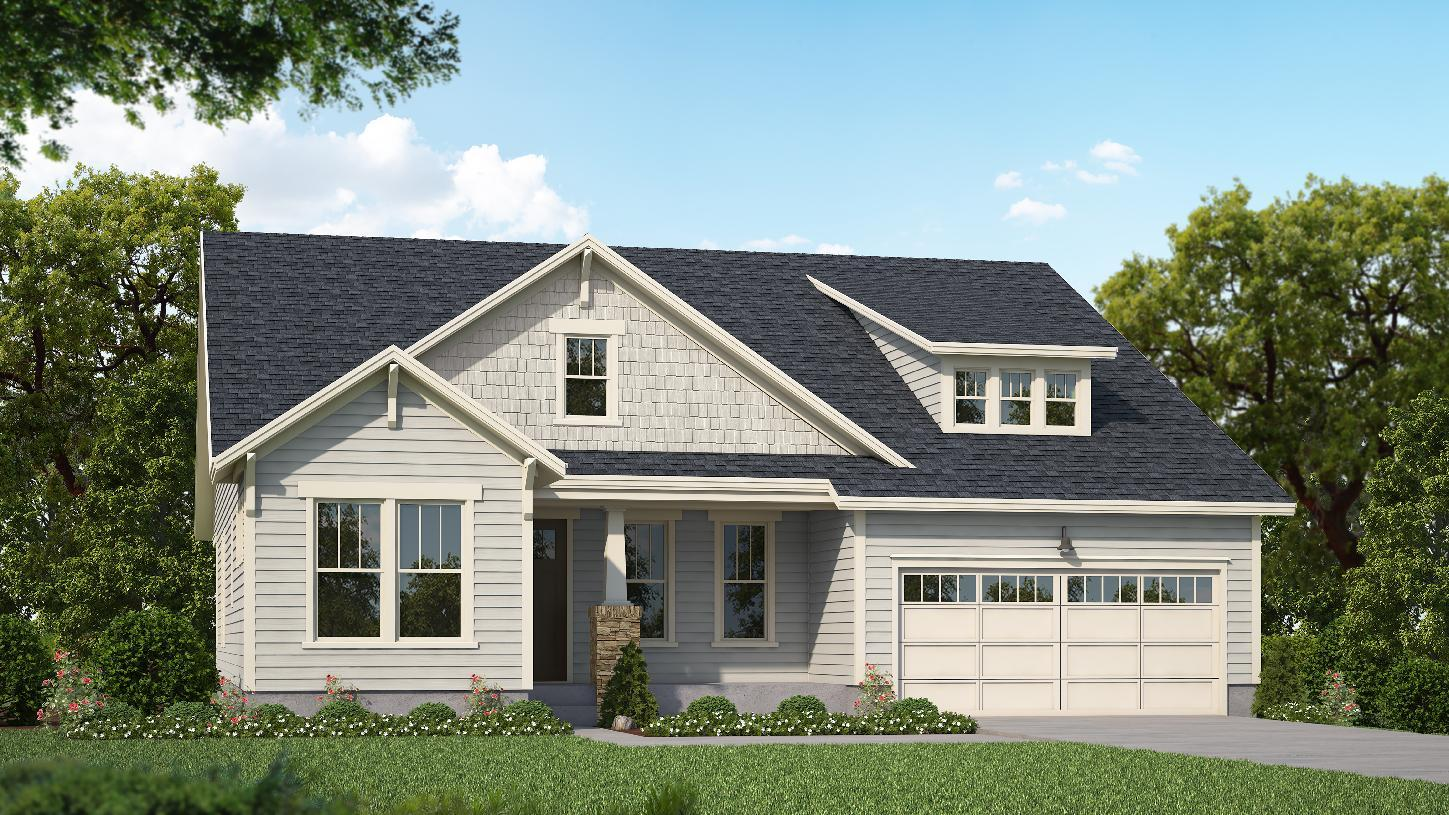 Exterior featured in the Bowman By Toll Brothers in Greenville-Spartanburg, SC