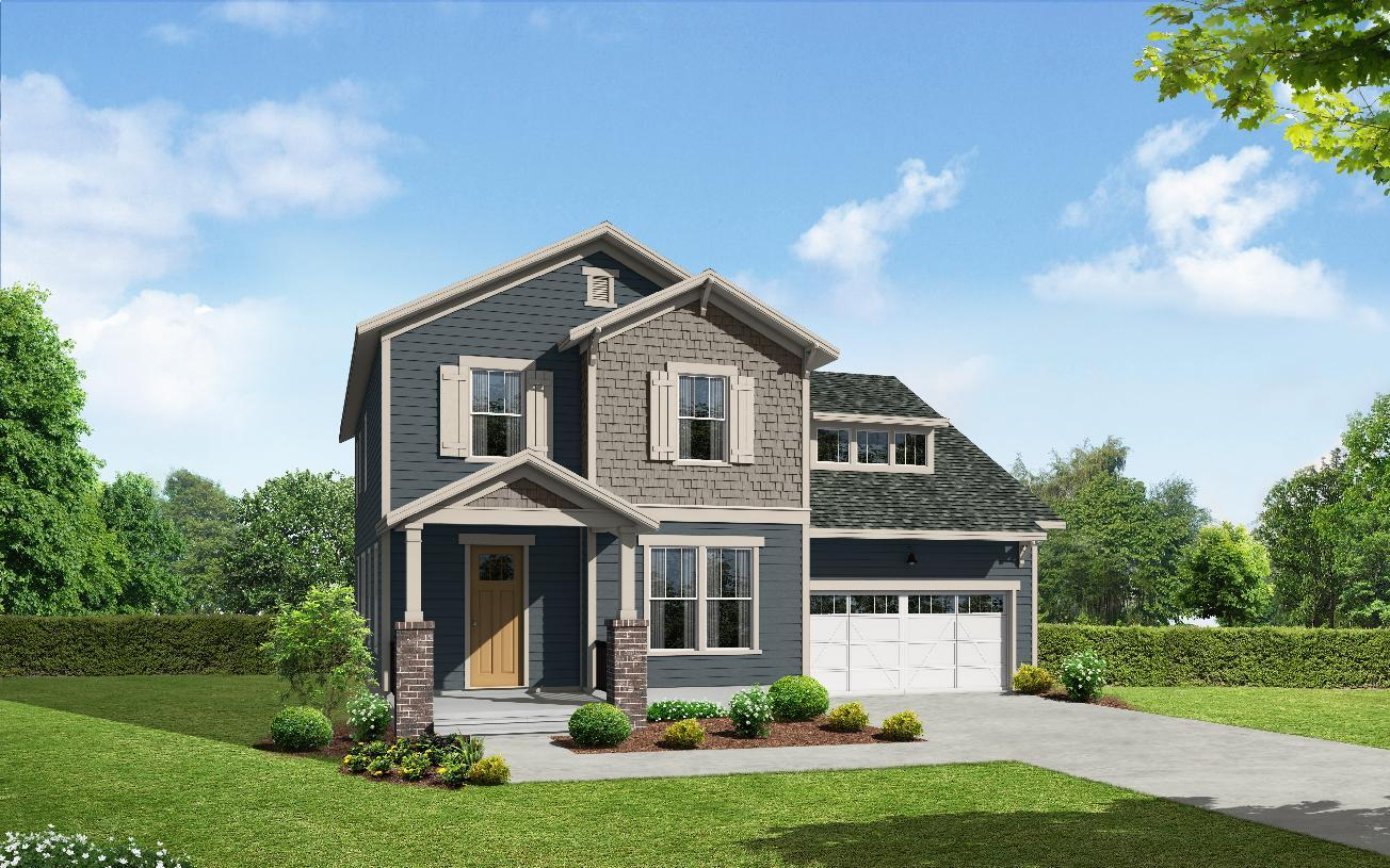Exterior featured in the Pritchard By Toll Brothers in Greenville-Spartanburg, SC