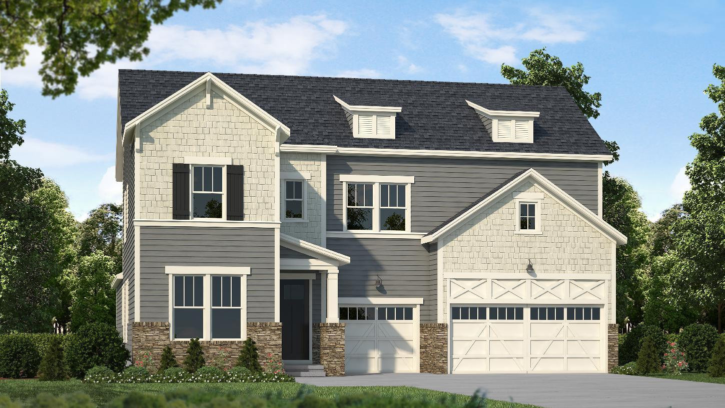 Exterior featured in the Windsor By Toll Brothers in Greenville-Spartanburg, SC
